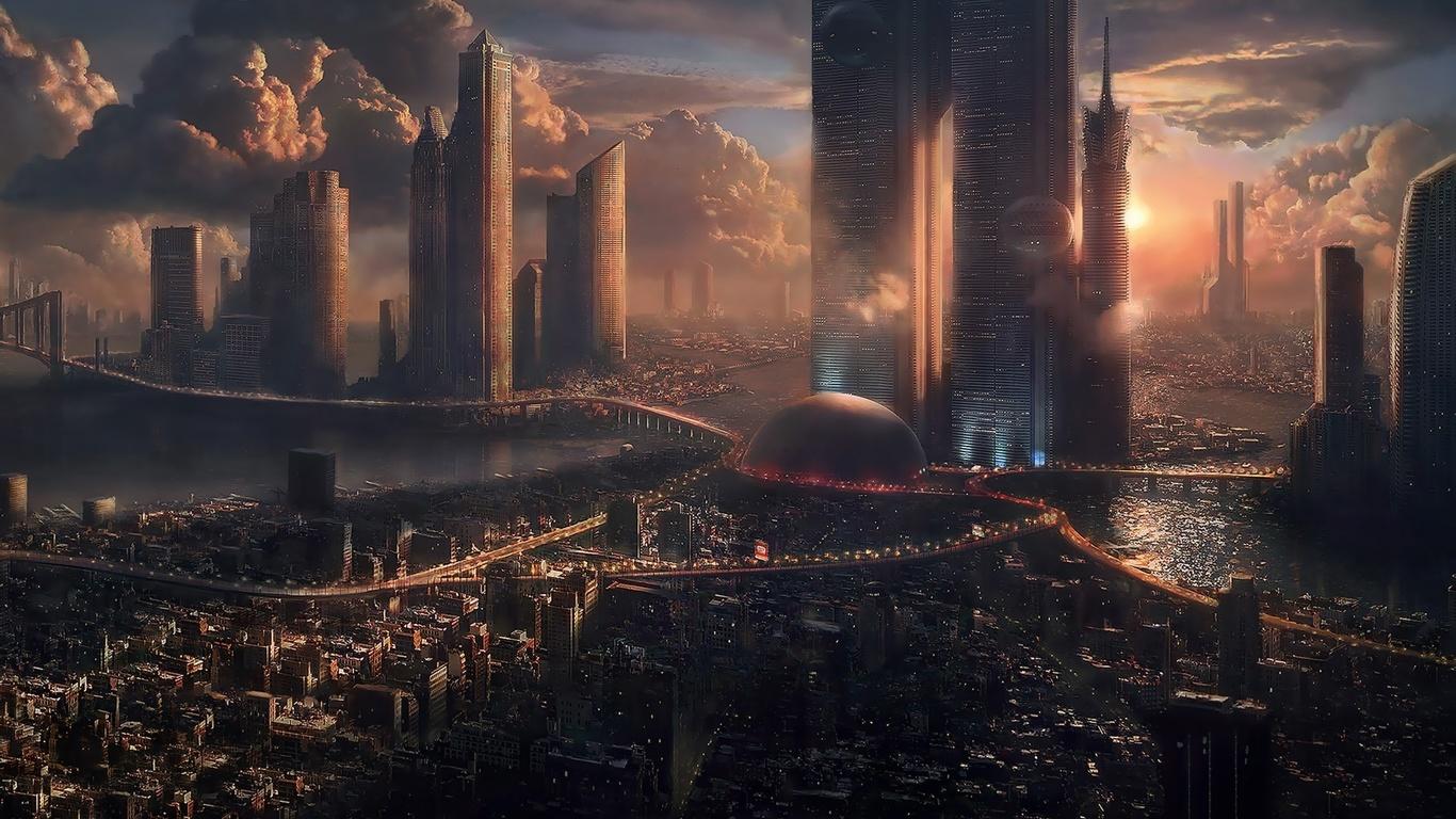 моль фантастические города картинки в хорошем качестве саженцы сирени