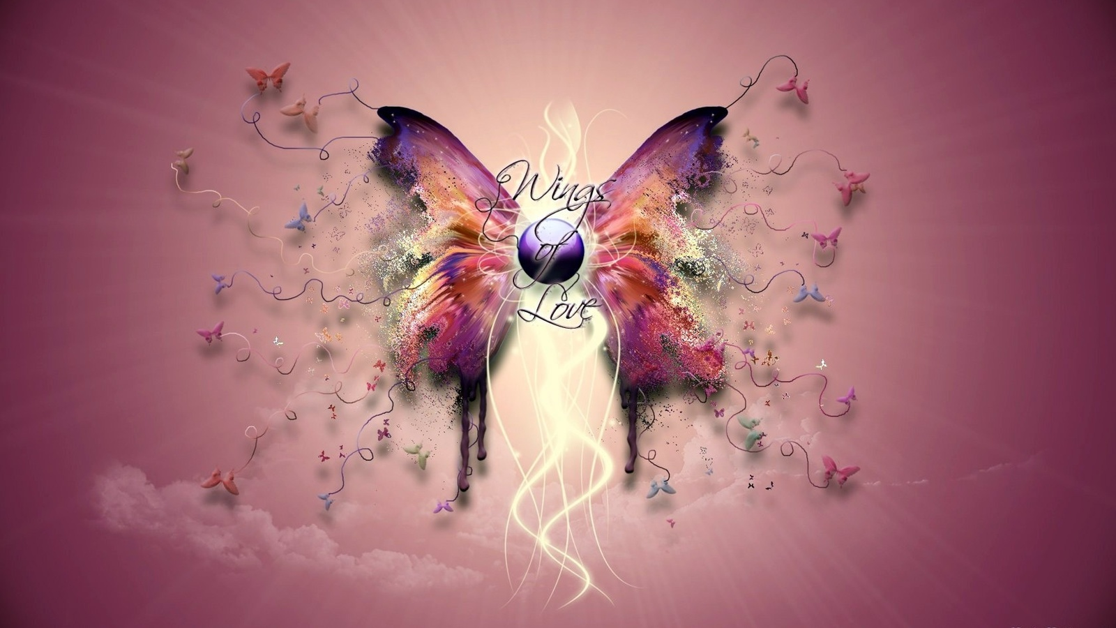 Картинки креативных бабочек