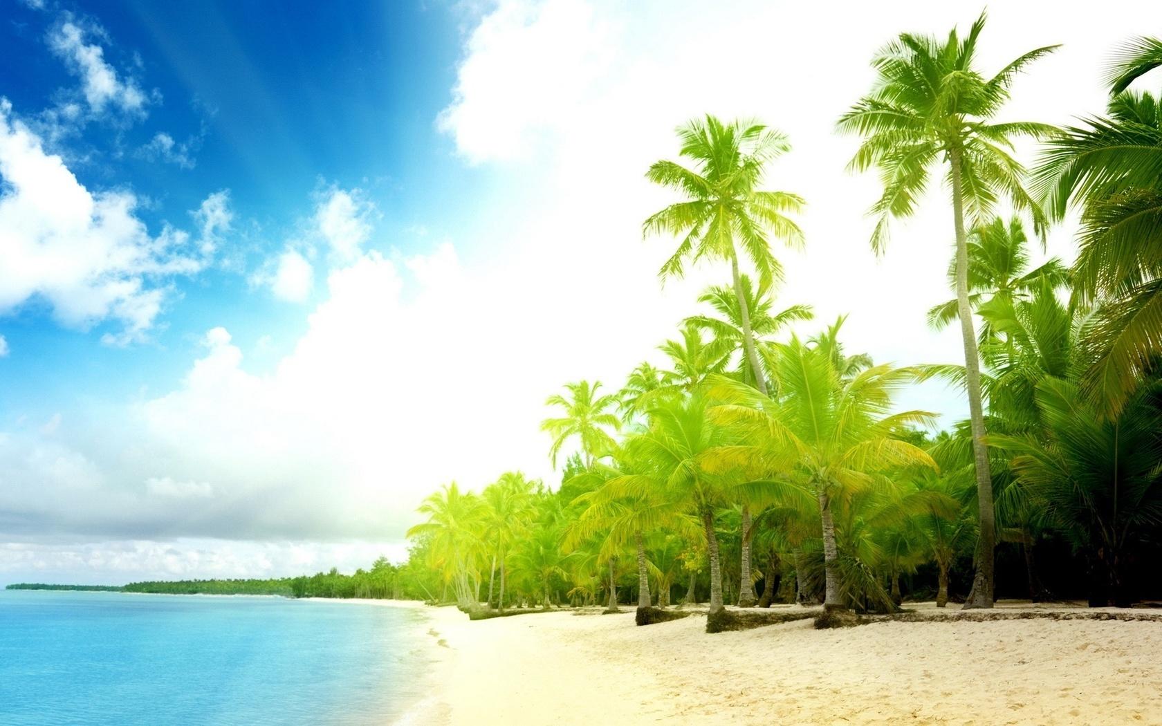 Картинки пляжа на заставку