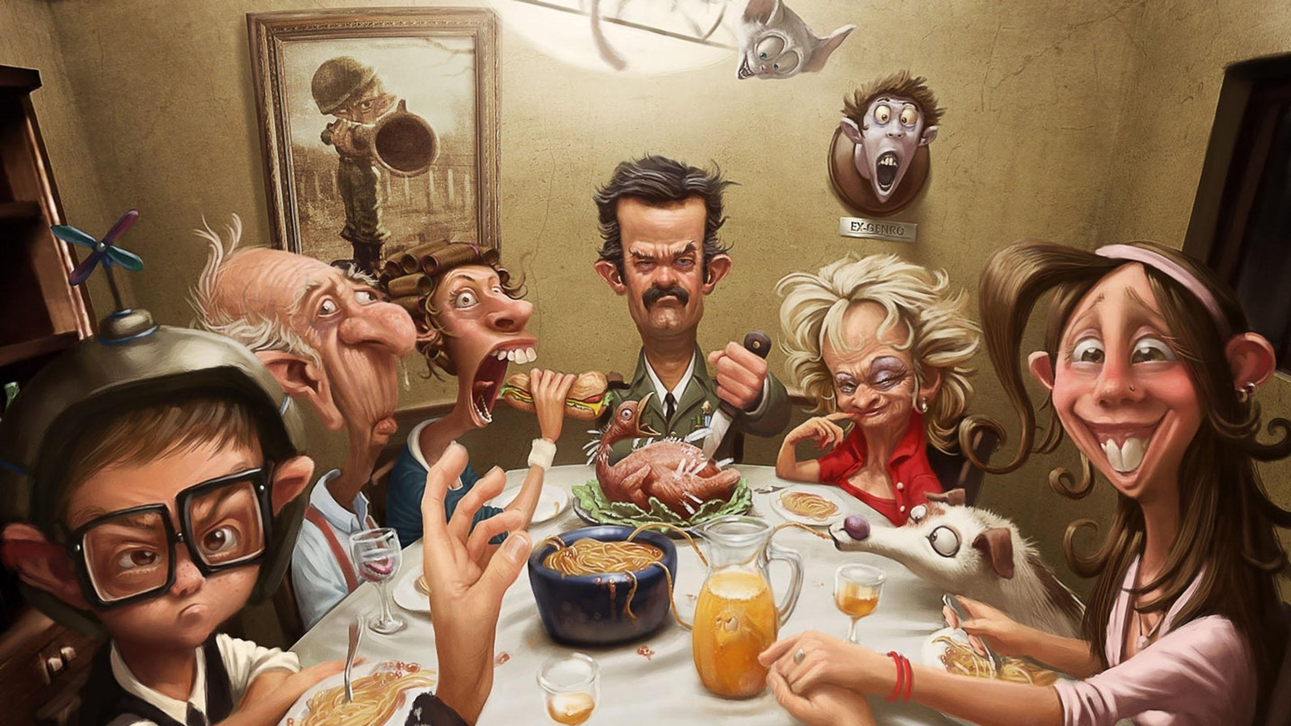 Картинки про семью со смыслом рисованные