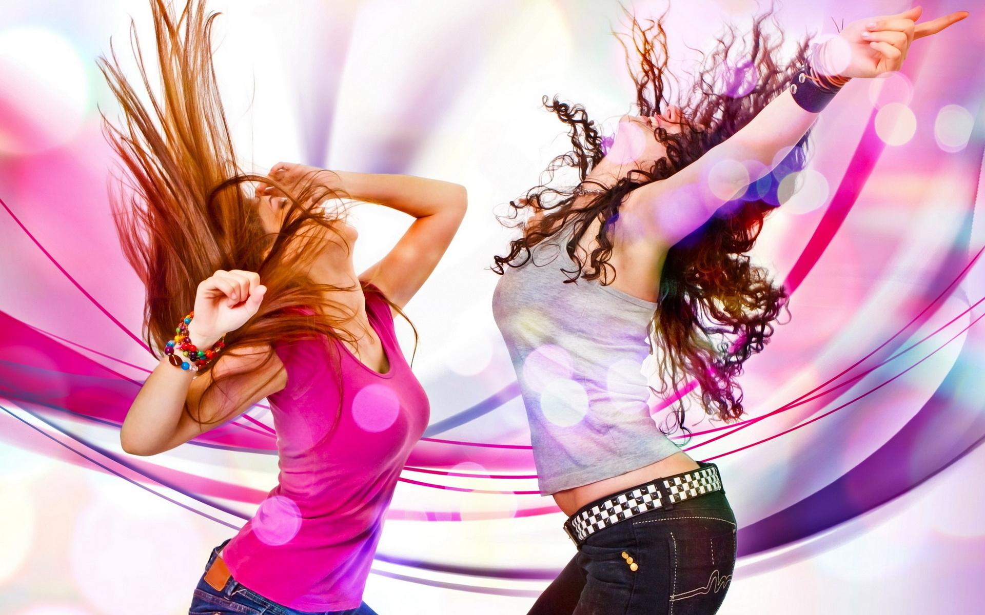 Я танцую разноцветные картинки
