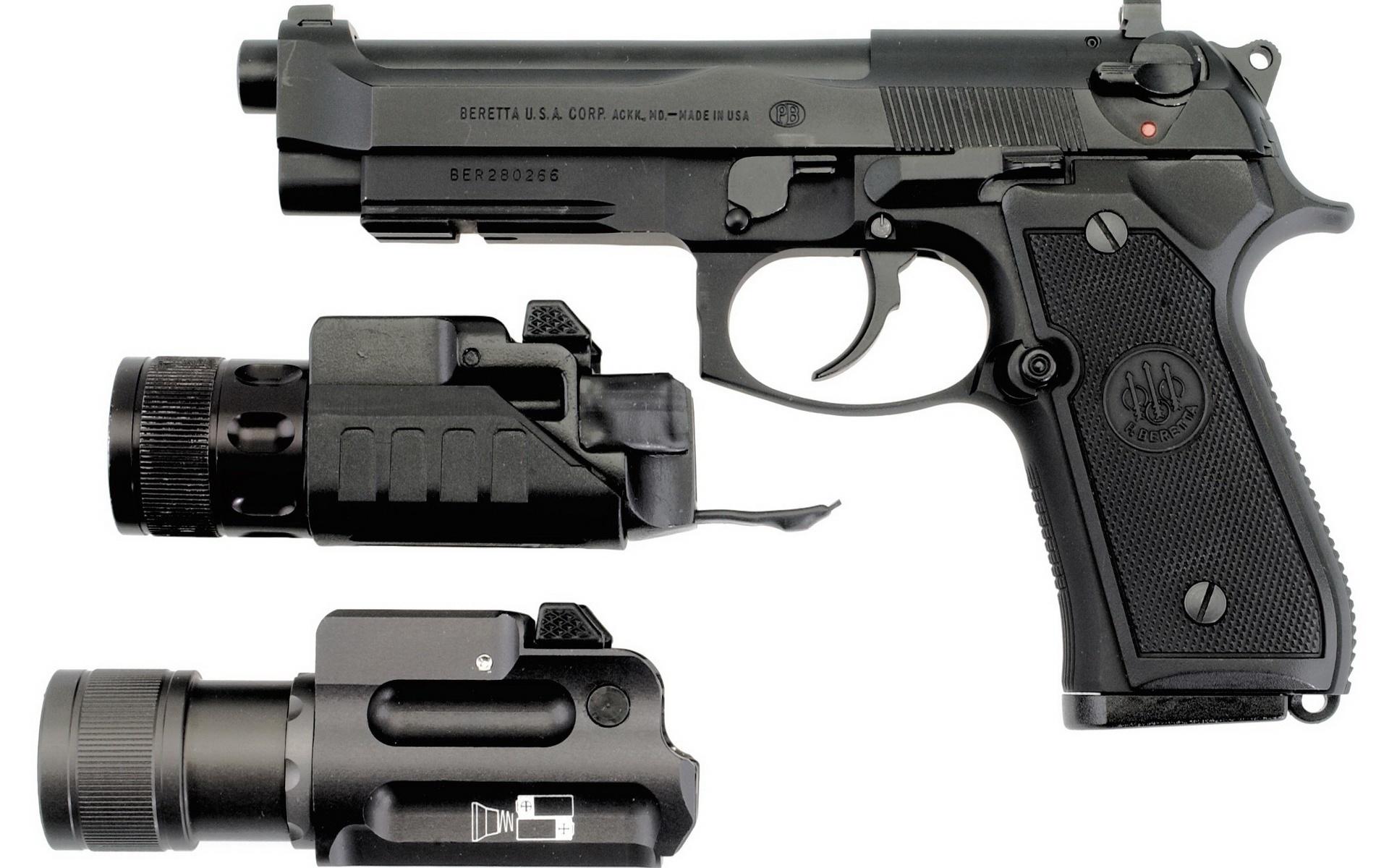 Пистолет черный картинка