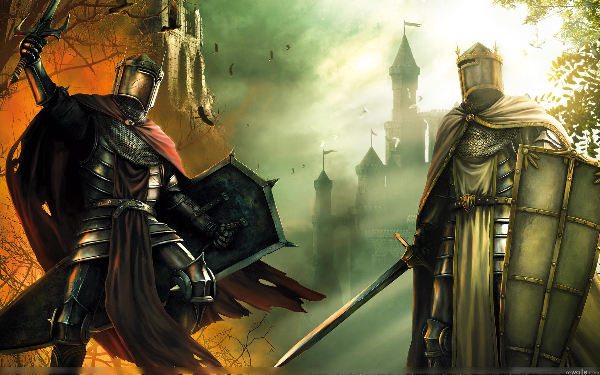 Фоновые картинки рыцарь