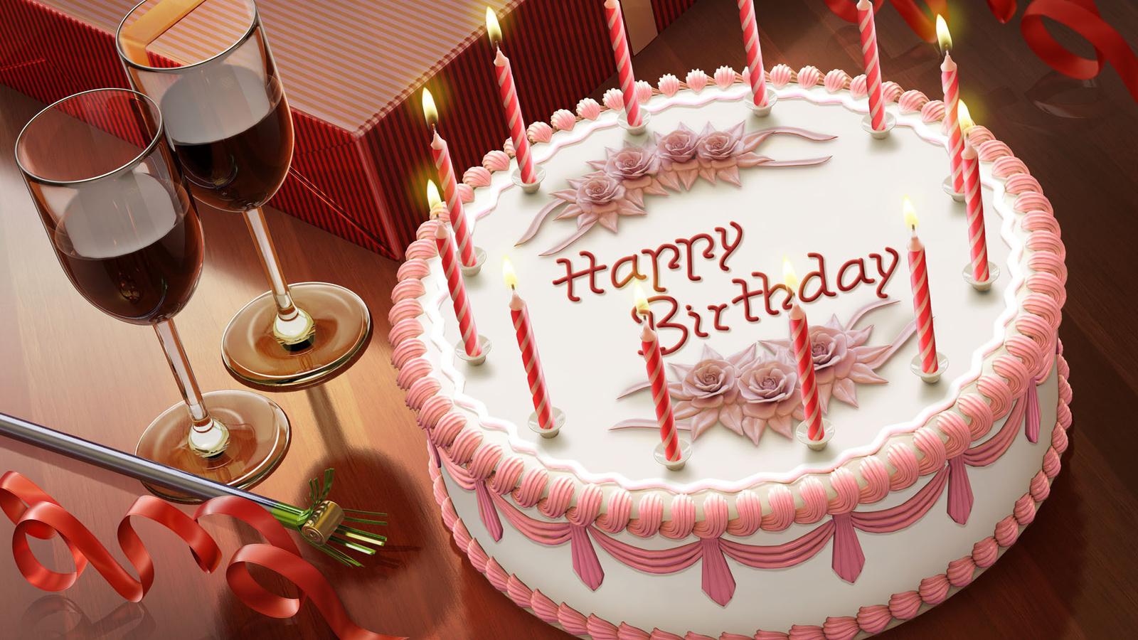 Картинки торт поздравление