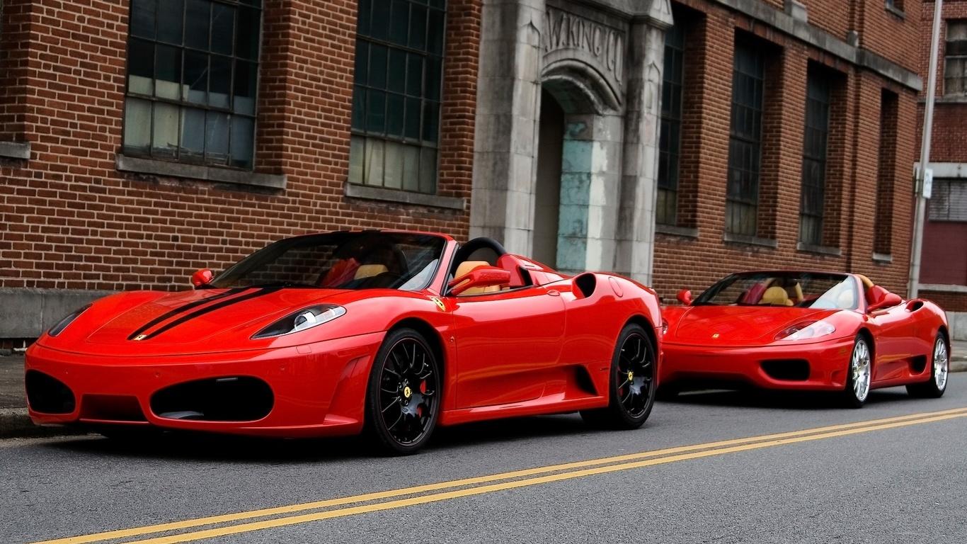 Красная машина картинка