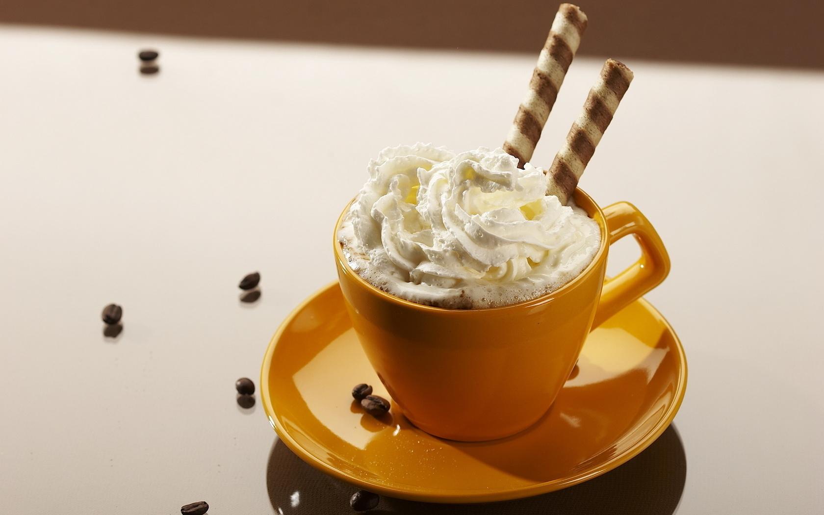 Открытки кофе со сливками, красивые открытки марта