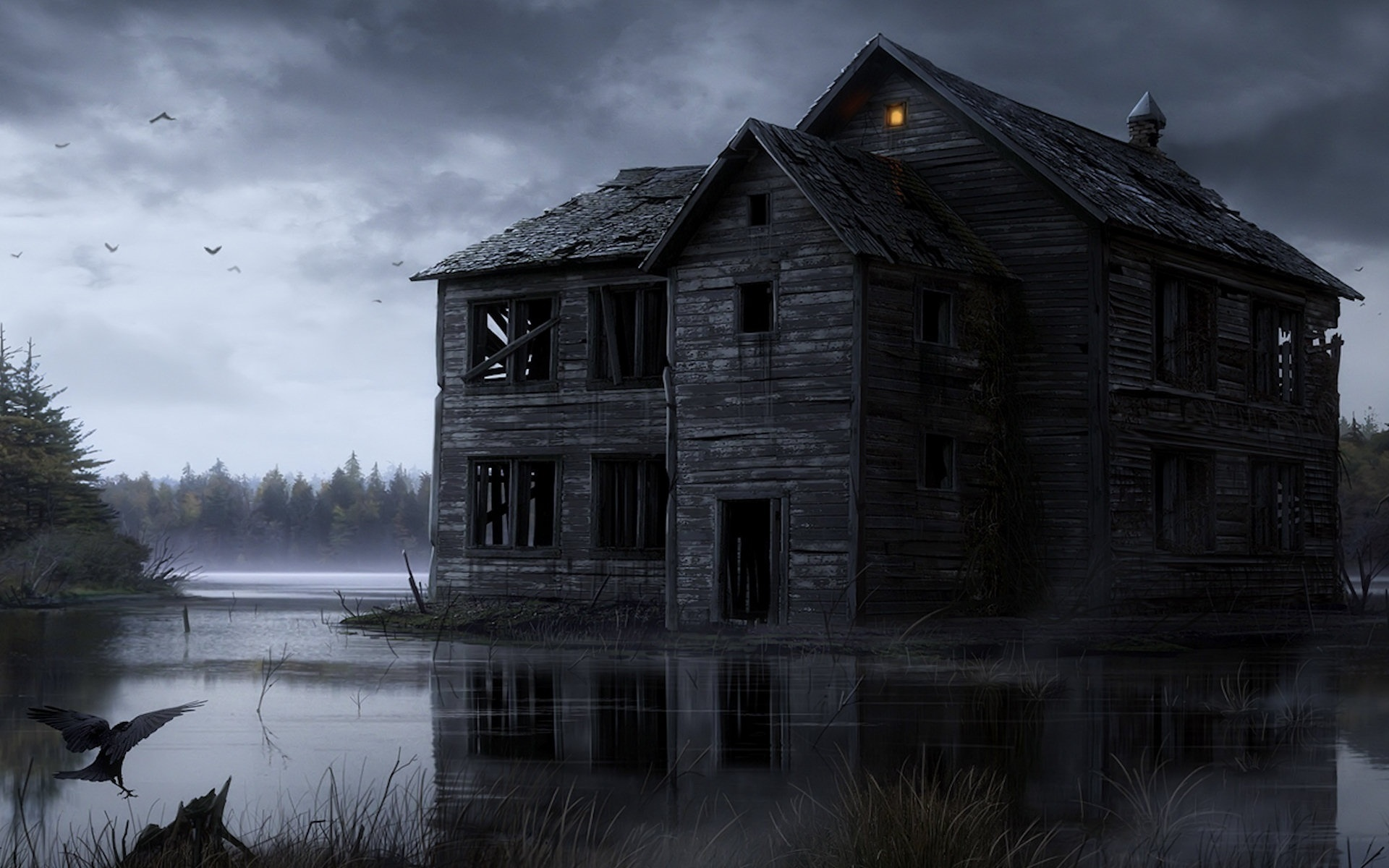 картинки загадочных домов это