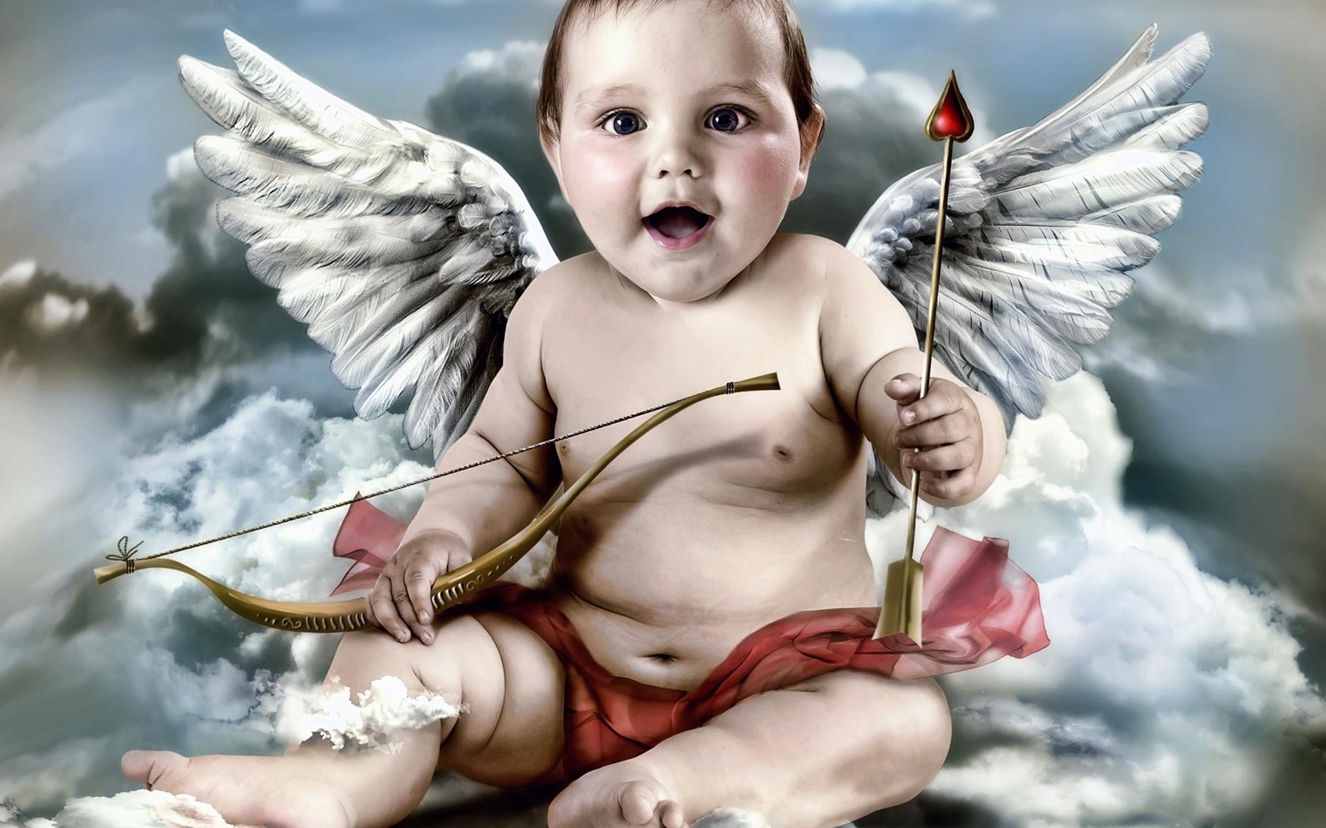 Открыток, красивые картинки ангелочков мальчиков