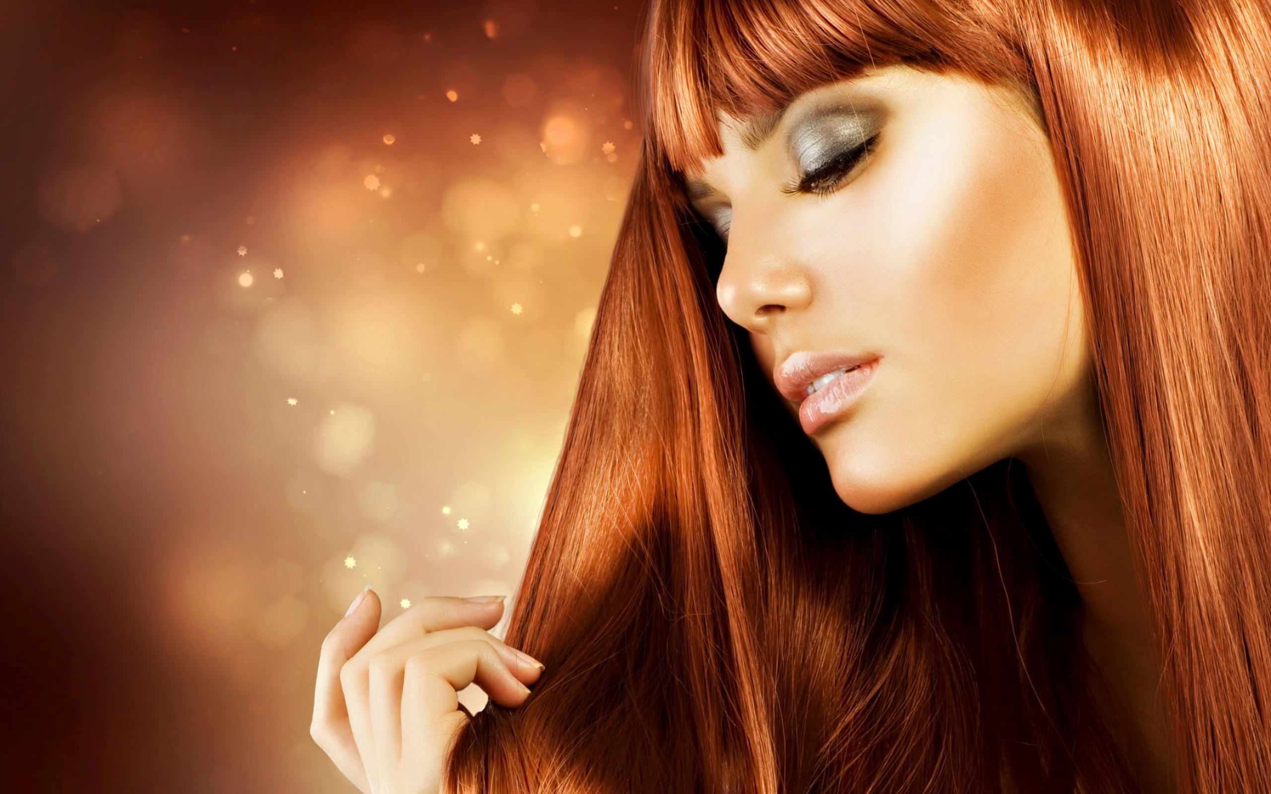 Hair salon girl #9