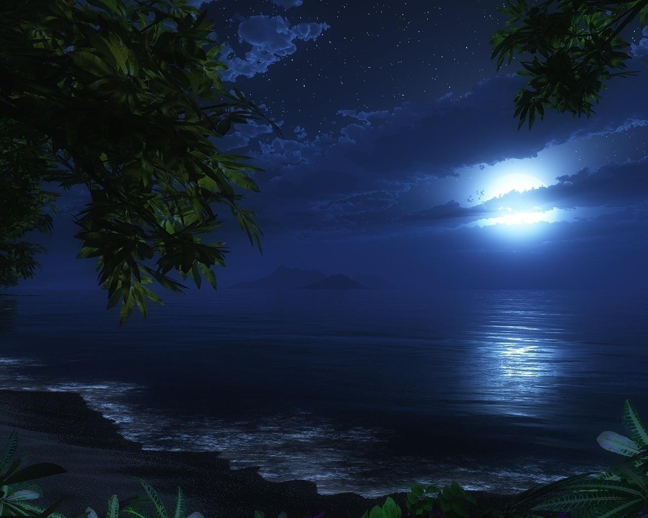 Спокойного сна картинки природа