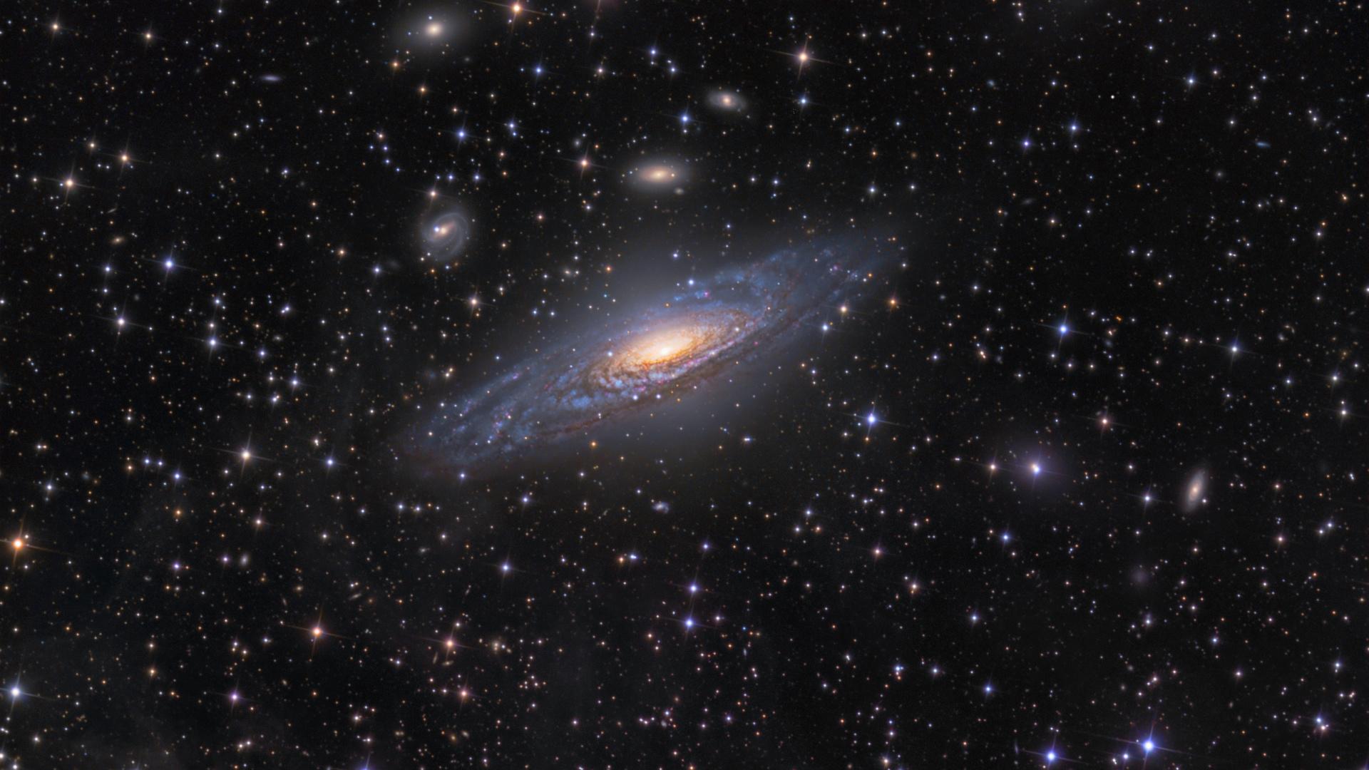 Анимационные картинки, картинки галактика