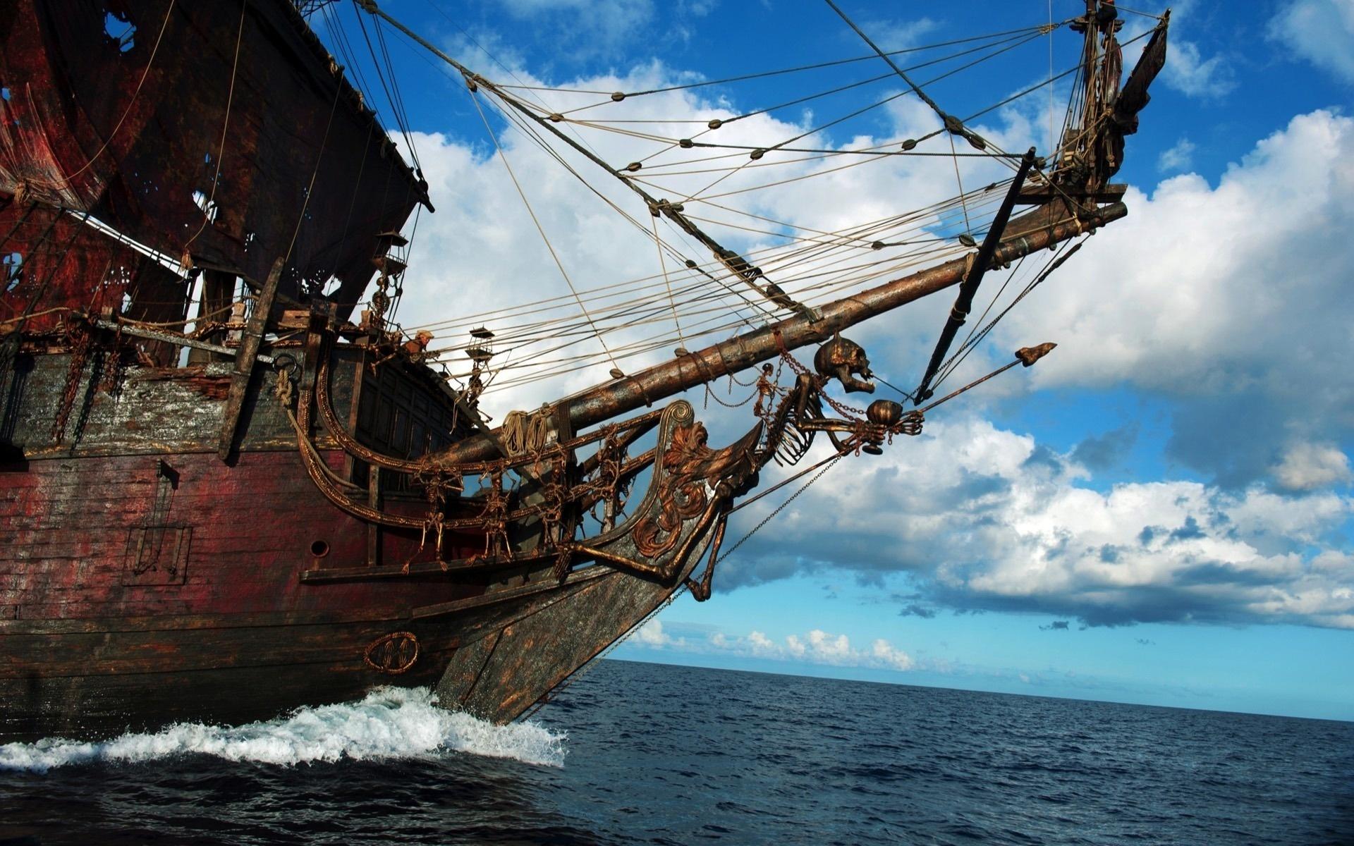 Корабль пиратов фото картинки
