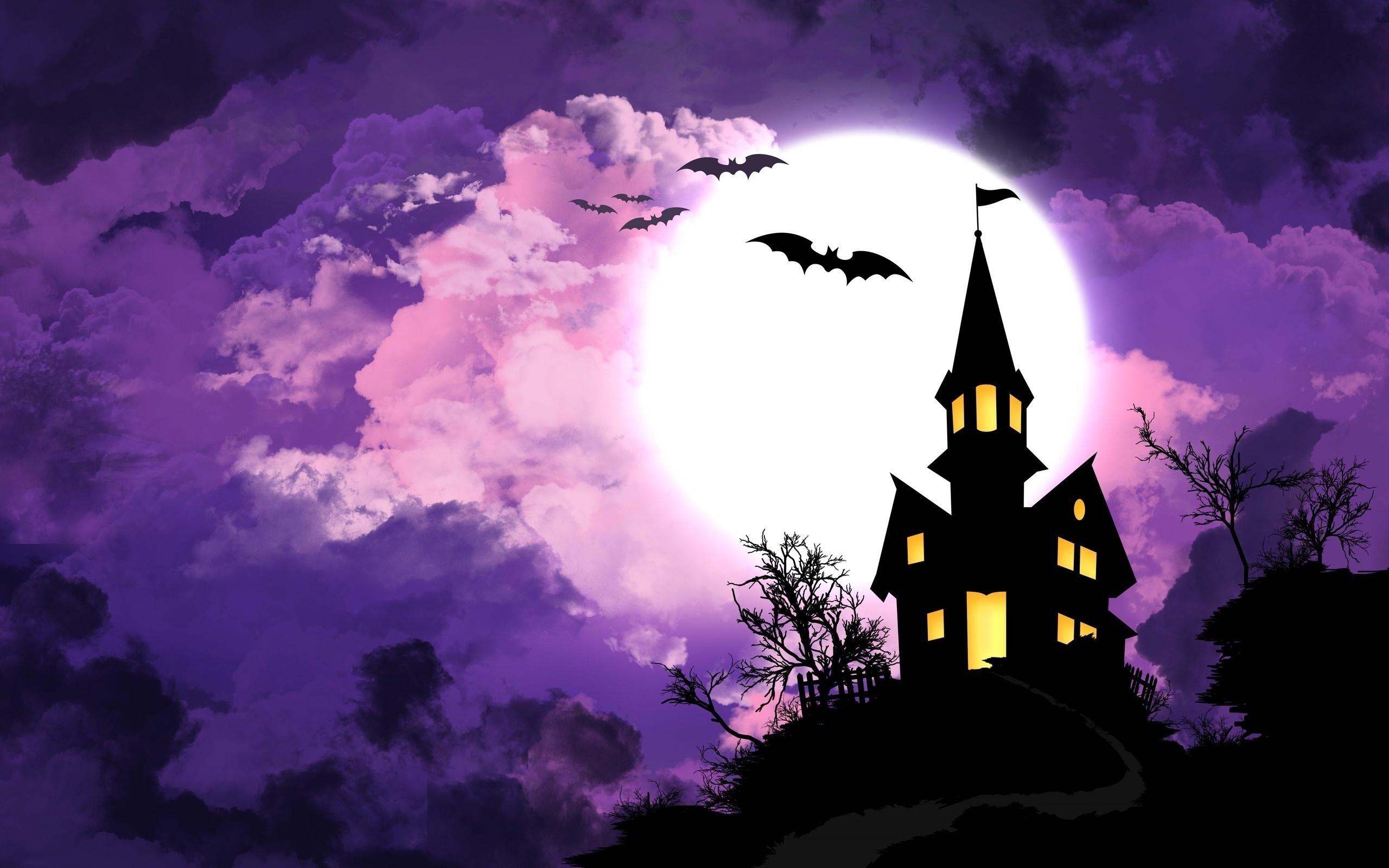 приманить замок фиолетовой колдуньи рисунок дом благоустроенным