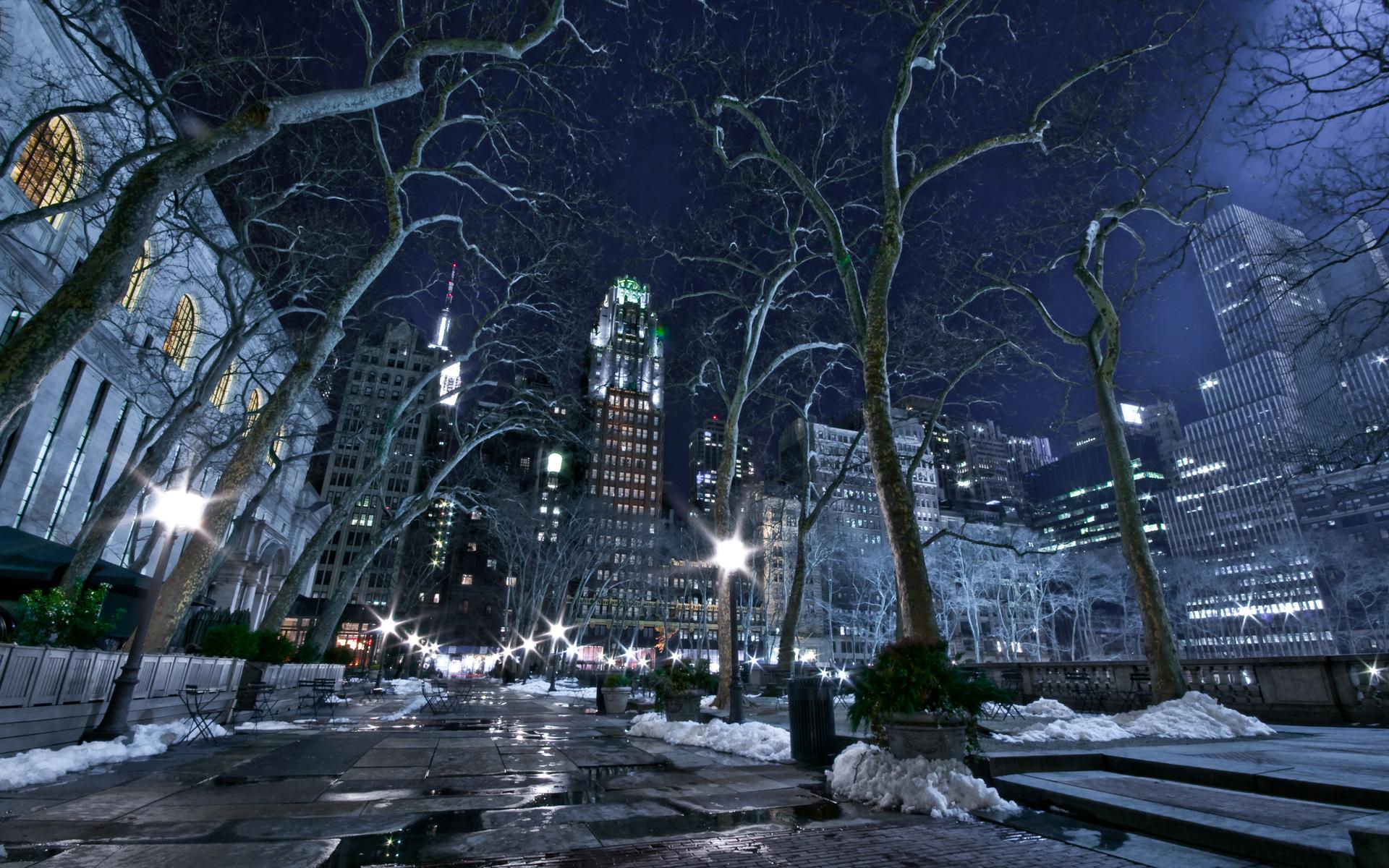 Город в декабре картинки