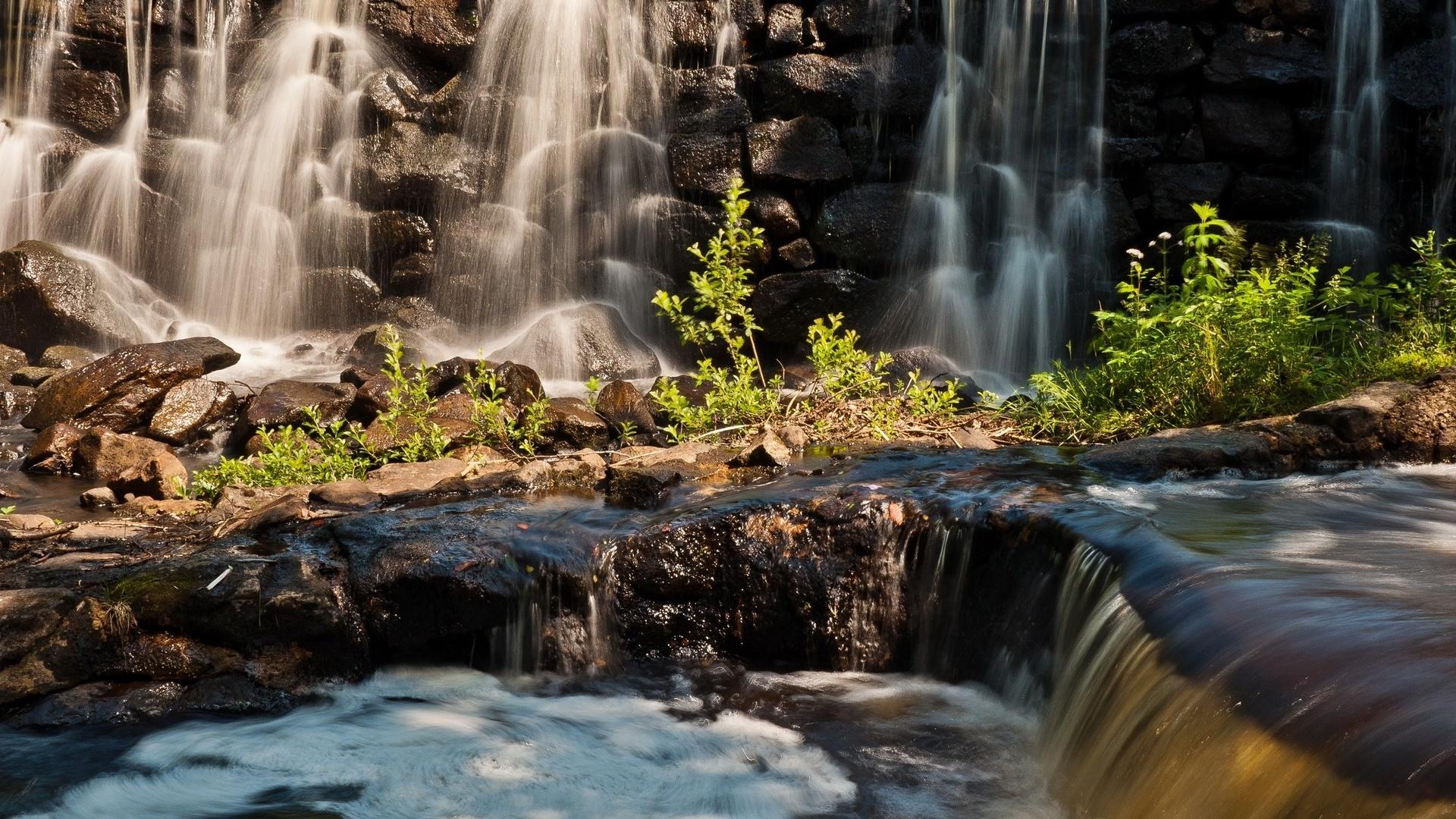 картинки на телефон природа водопад
