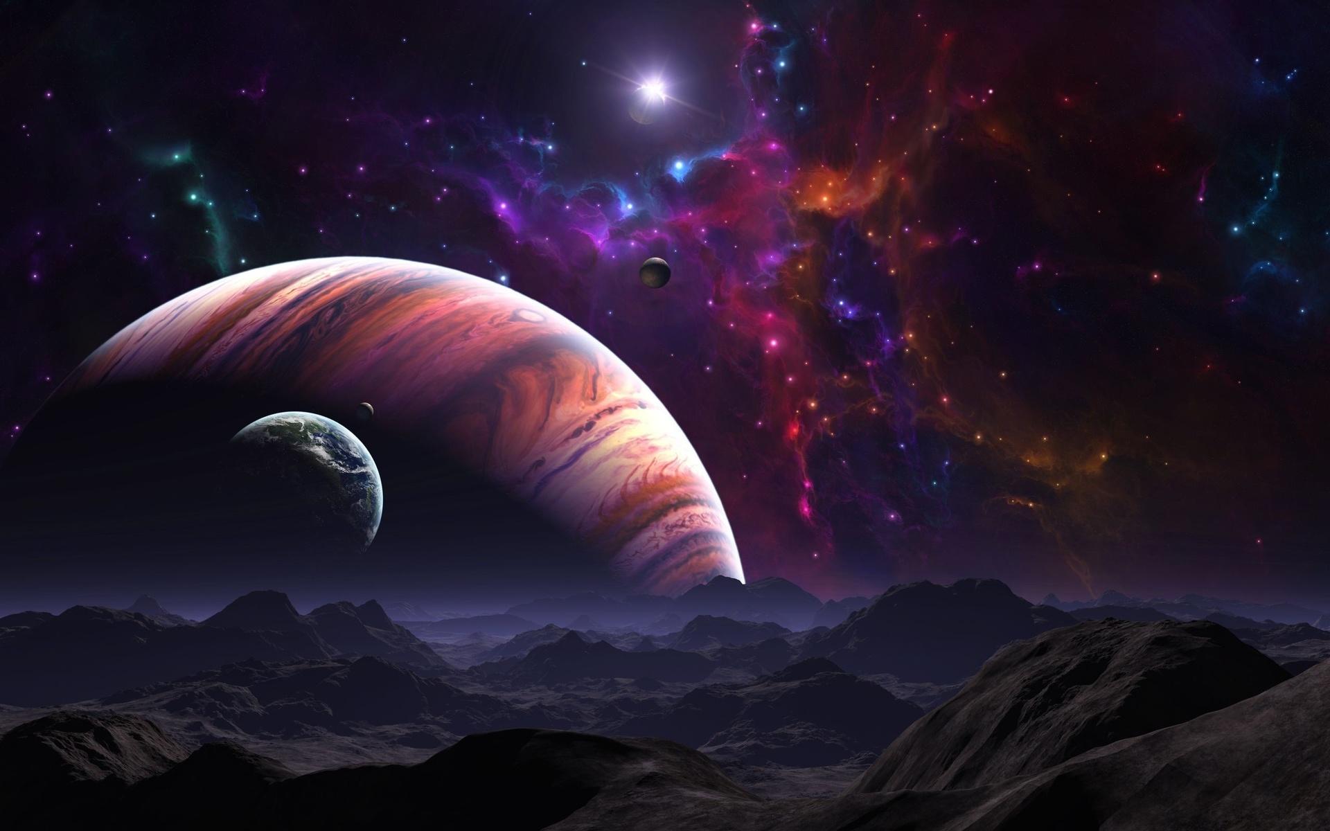 Своими руками, вселенная картинки красивые