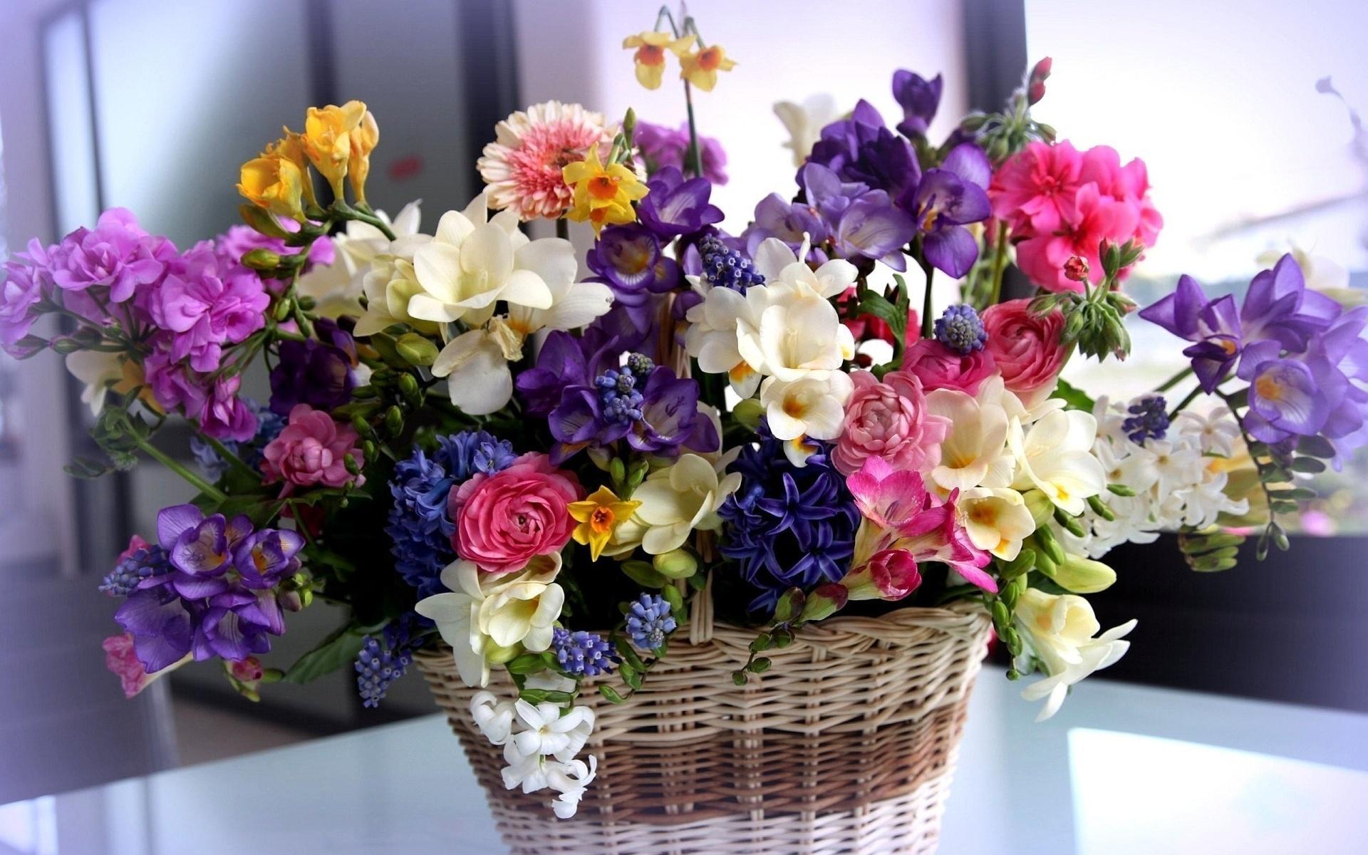 Открытка днем, открытка цветы послать