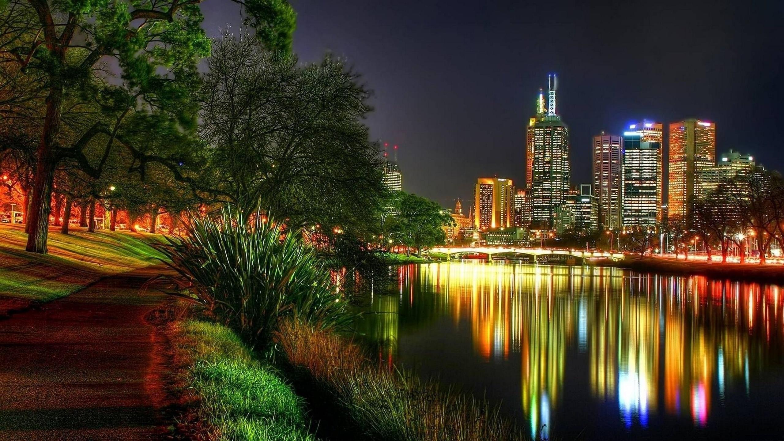 Красивые картинки ночной город