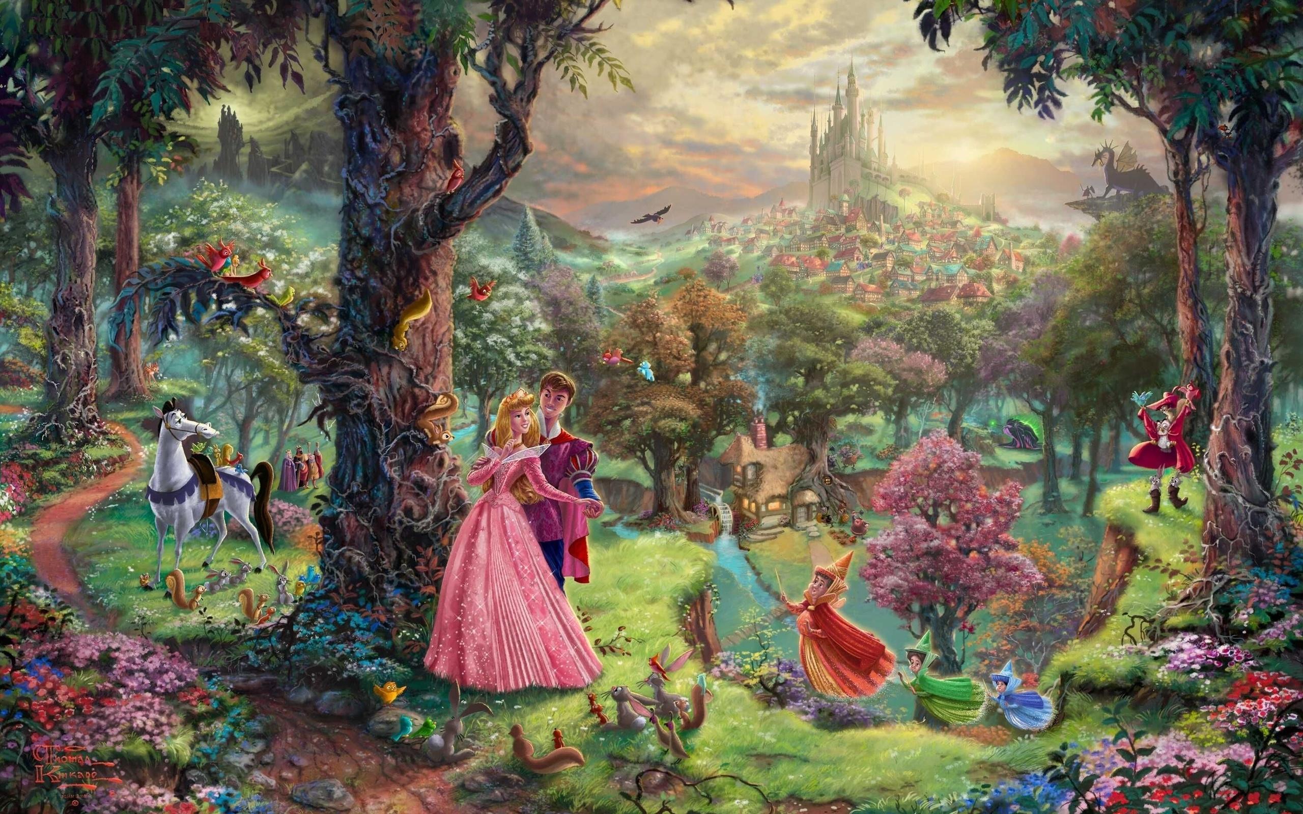 картинки про волшебный мир может