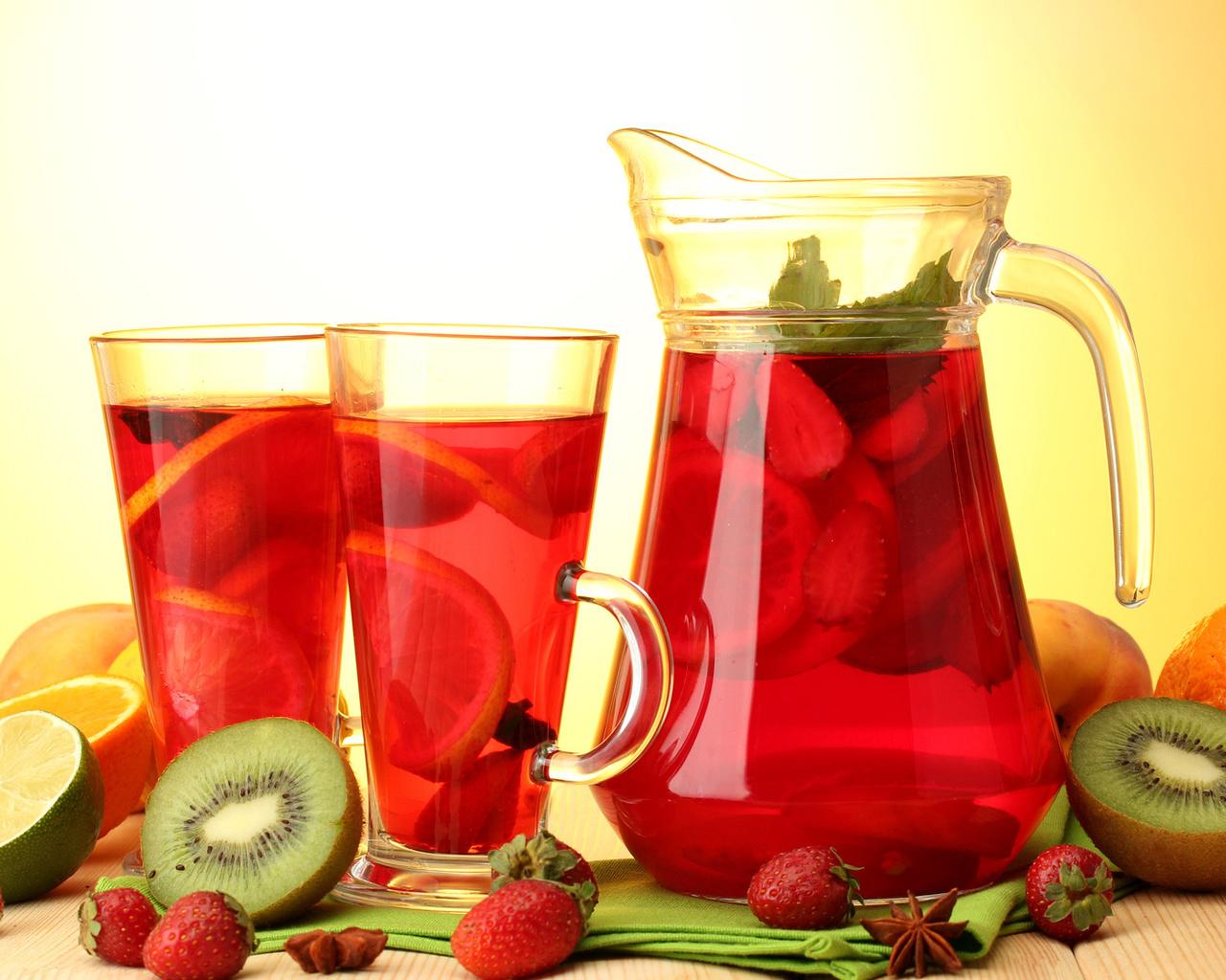 картинки с напитками и едой чай кофе соки компоты развиваются
