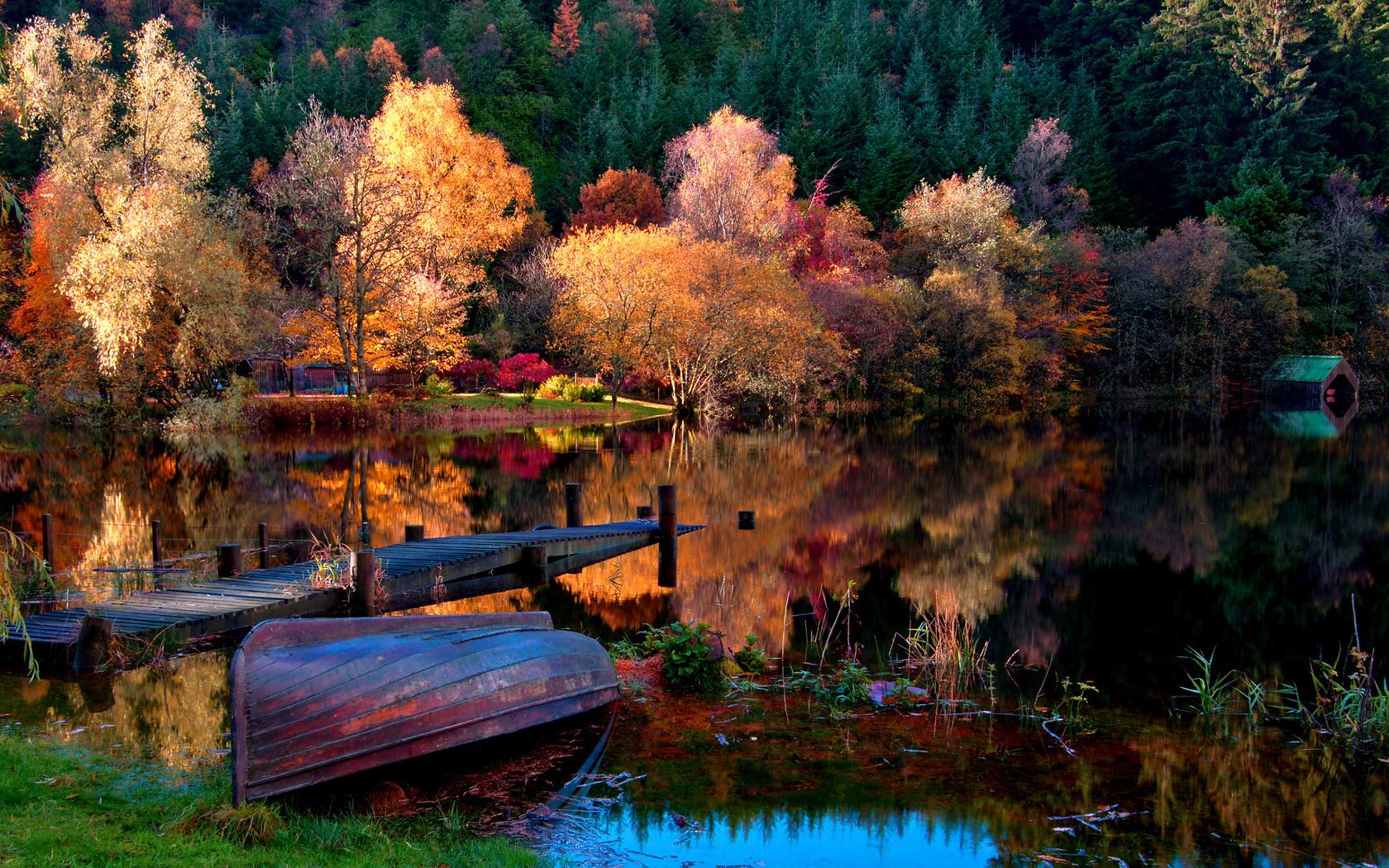 Открытки с красивой природой, вот осень