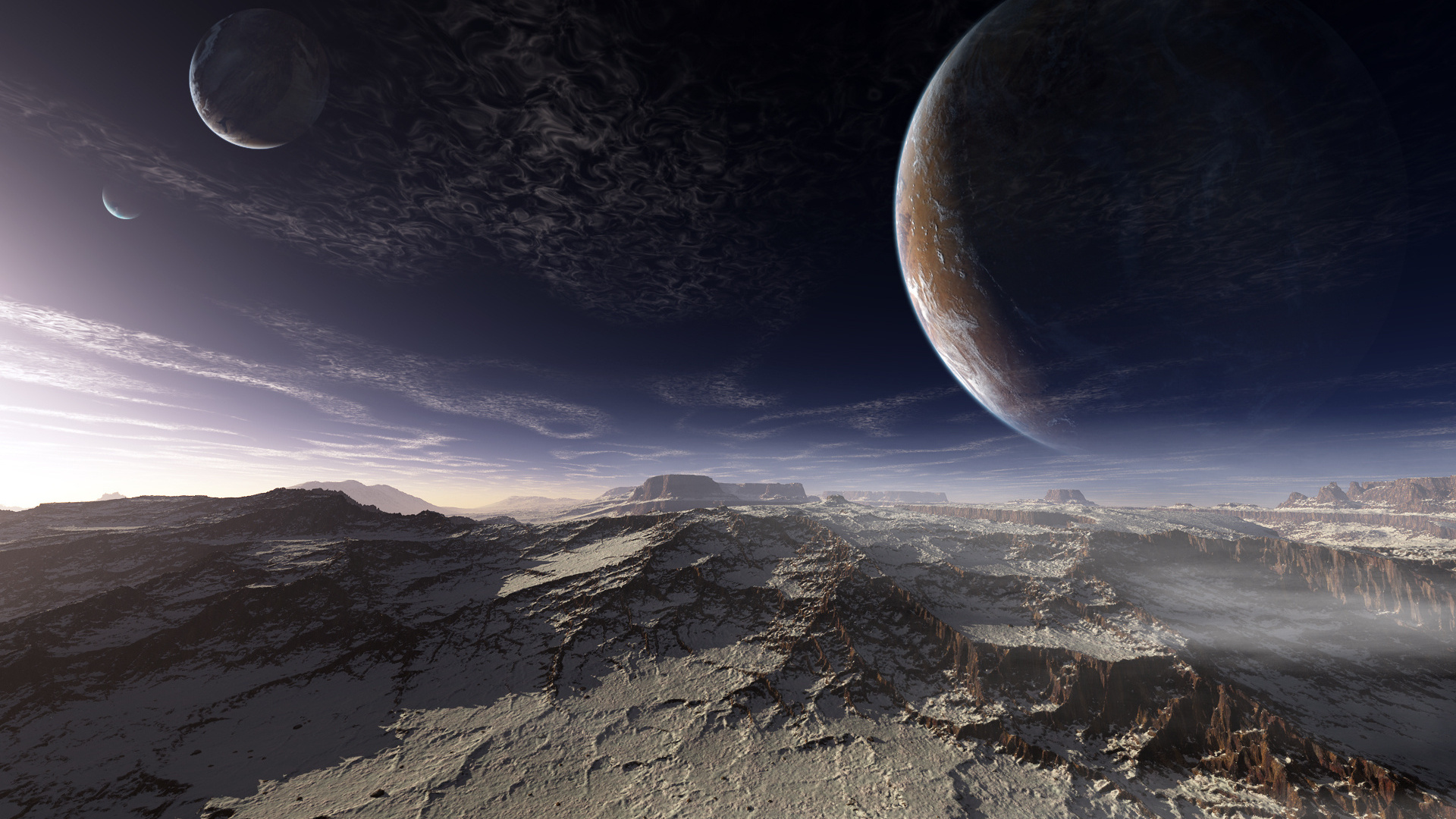 Картинки виды других планетах