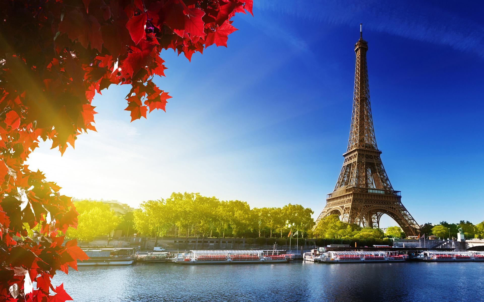 Картинки город париж эльфивая башня