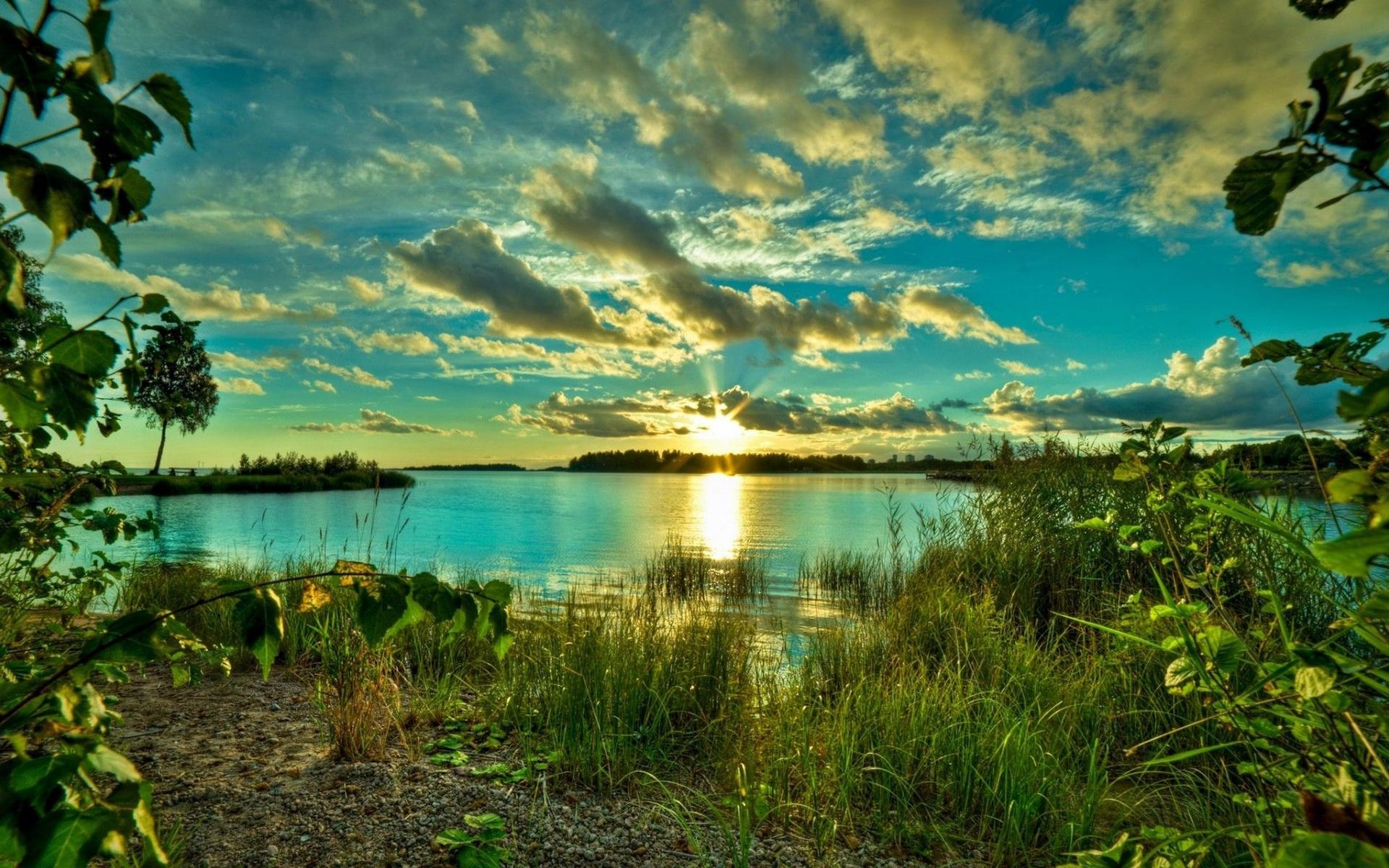 красивые картинки лето солнце река нет места вычурности
