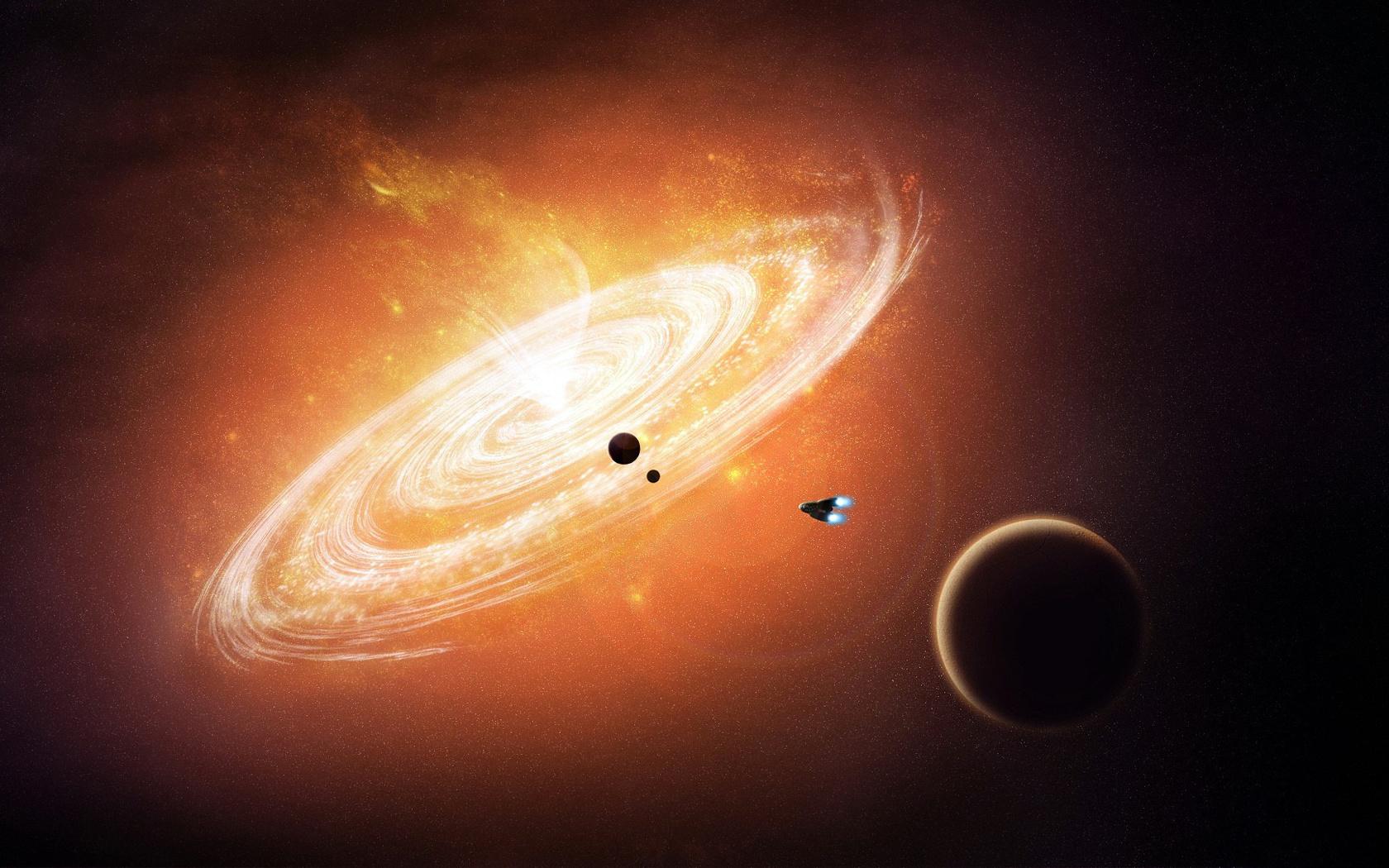 популярных картинки космос и планеты и черная дыра кого была