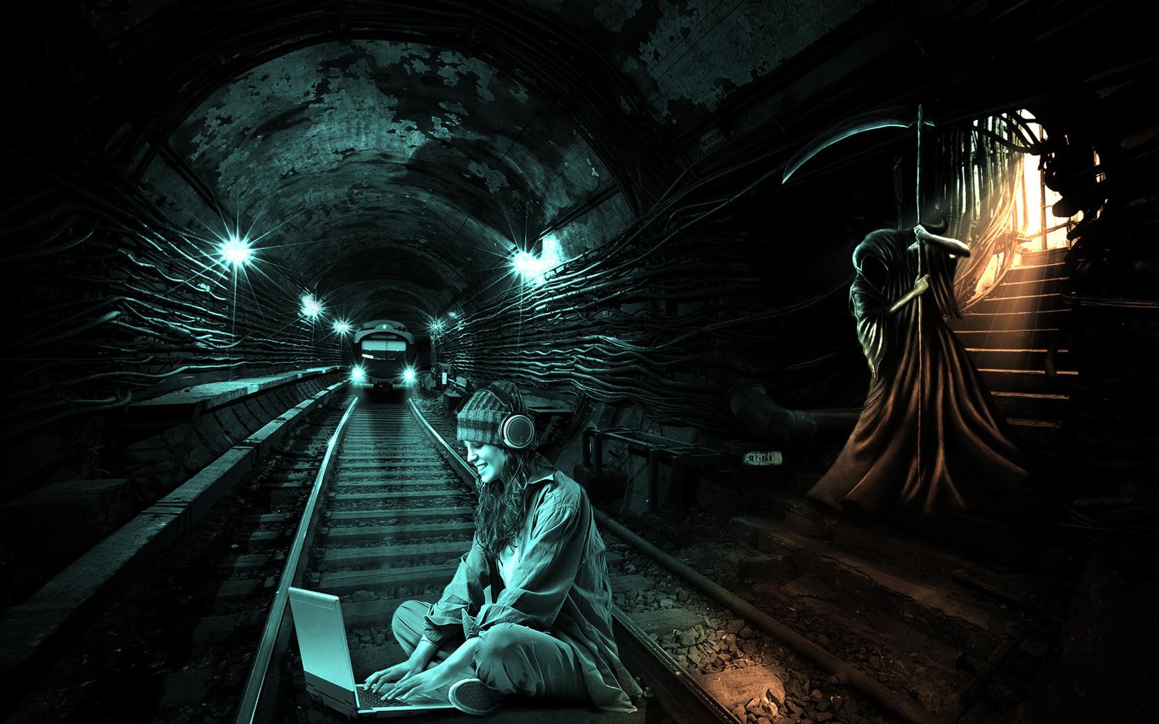 Картинки мрачного метро