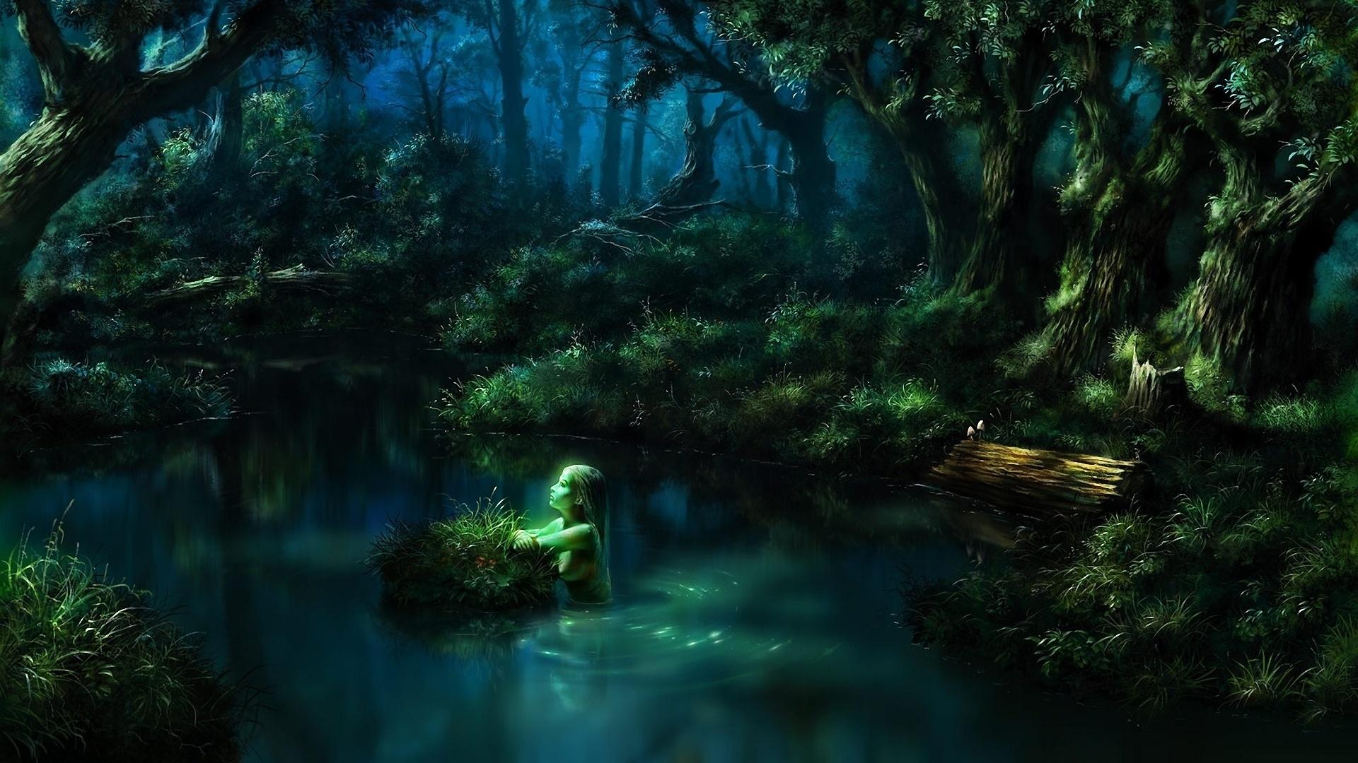 Картинки реки мистика