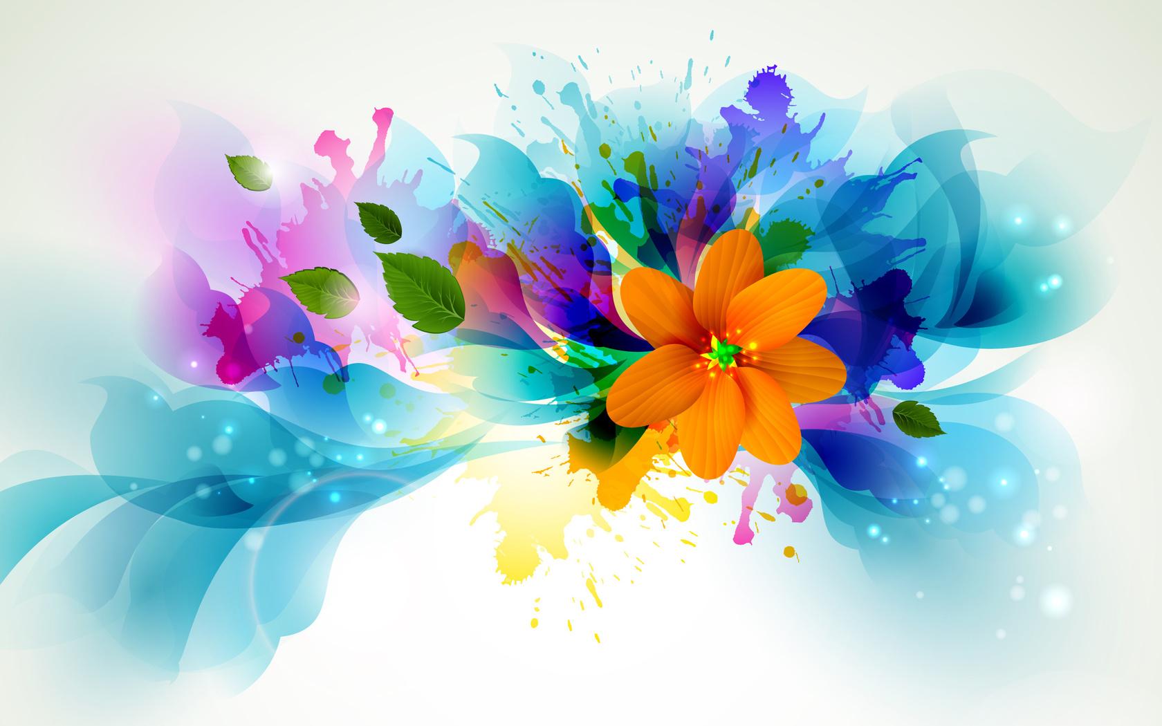 бар картинка яркая веселая цветок того