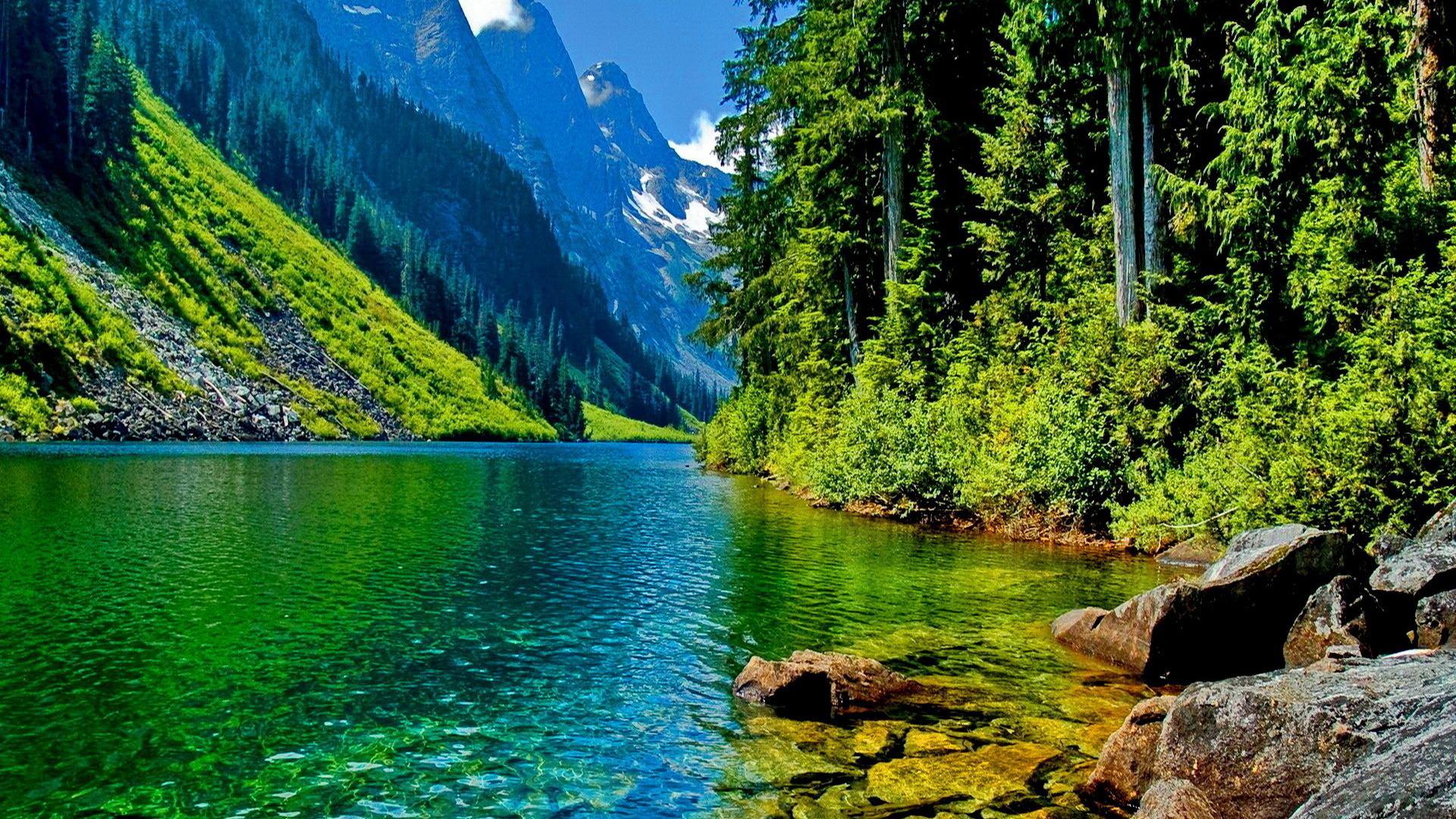 горы с реками картинки выбора оптимального цвета