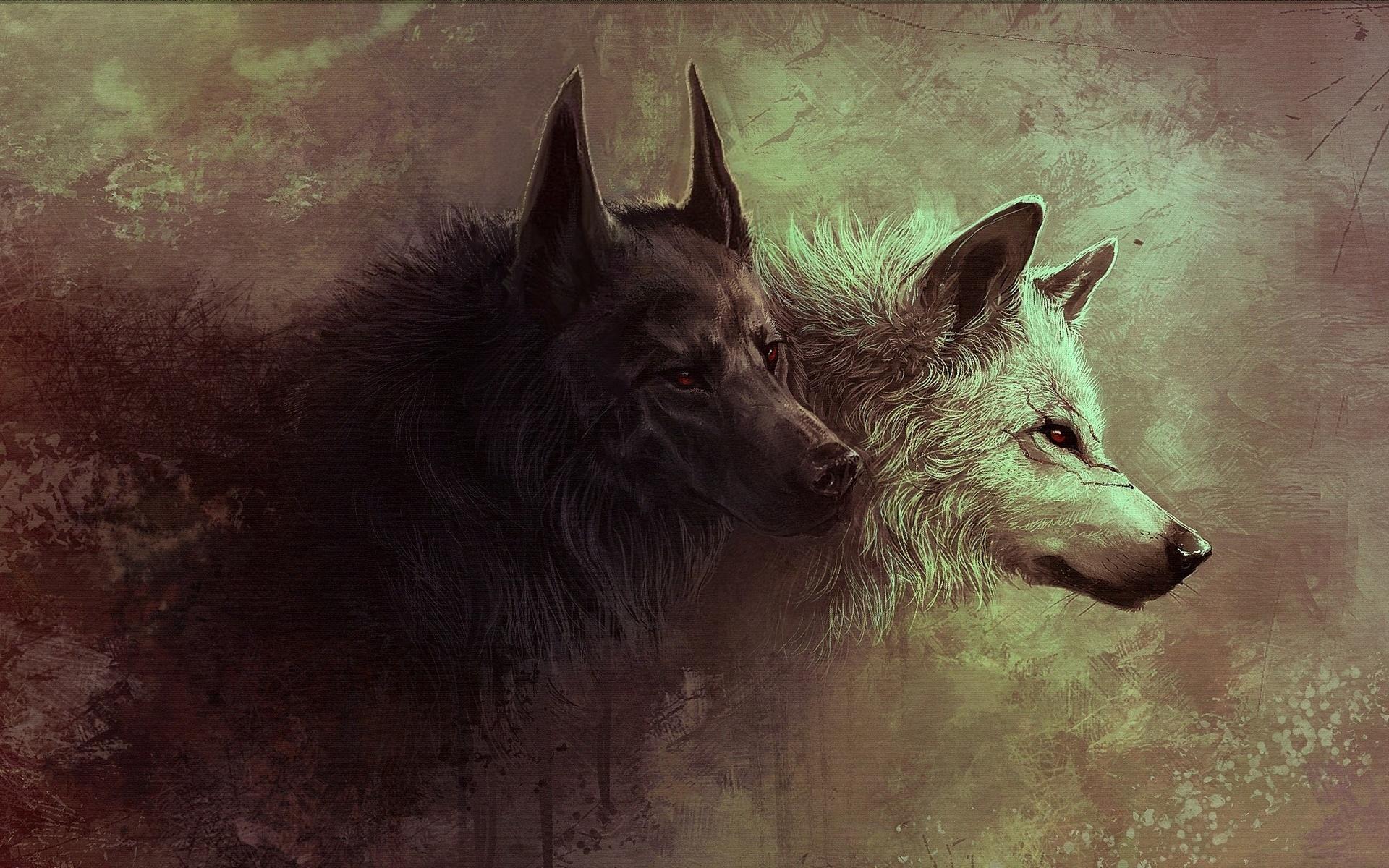 Картинки для фона телефона волки