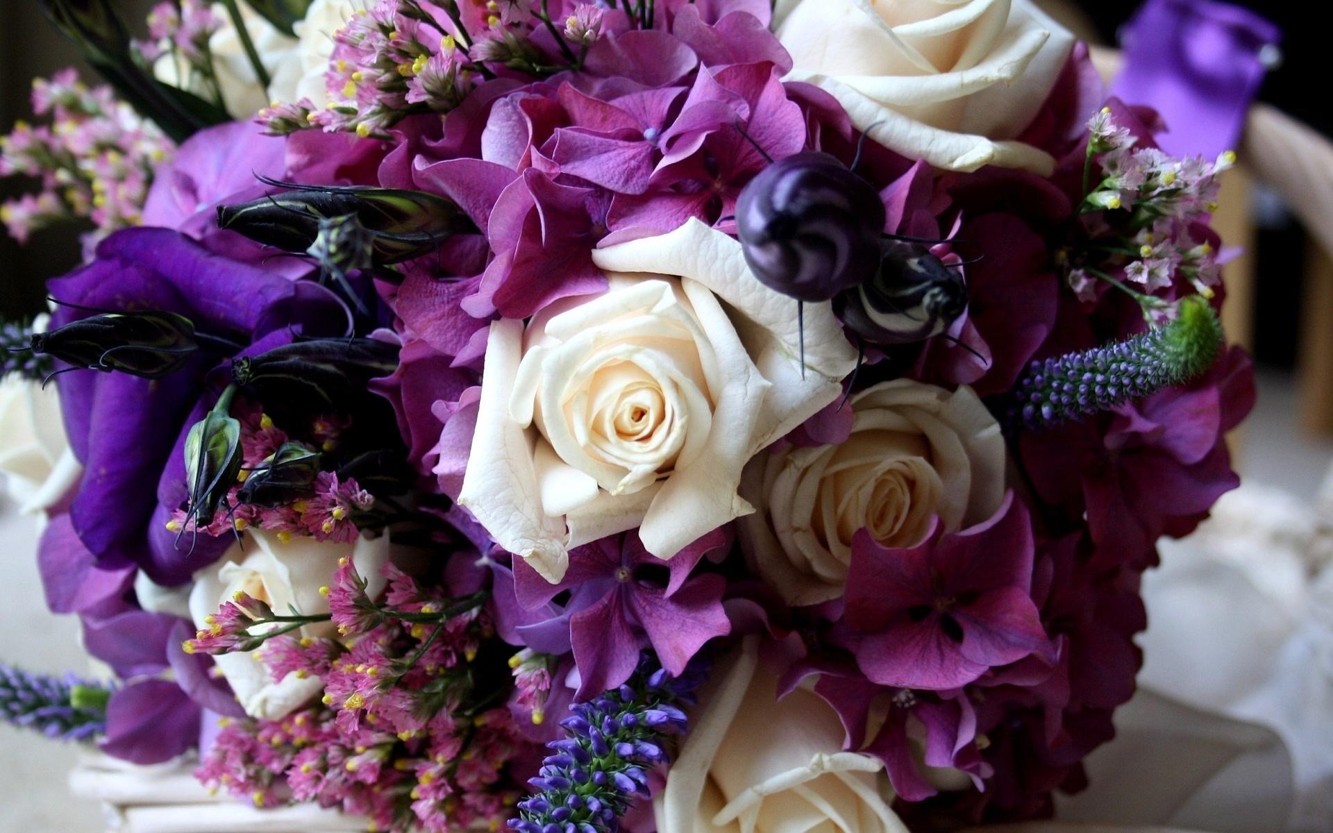 фото шикарного букета цветов высокого разрешения ним