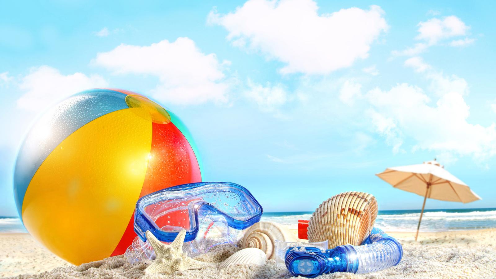 пляжная тема картинки