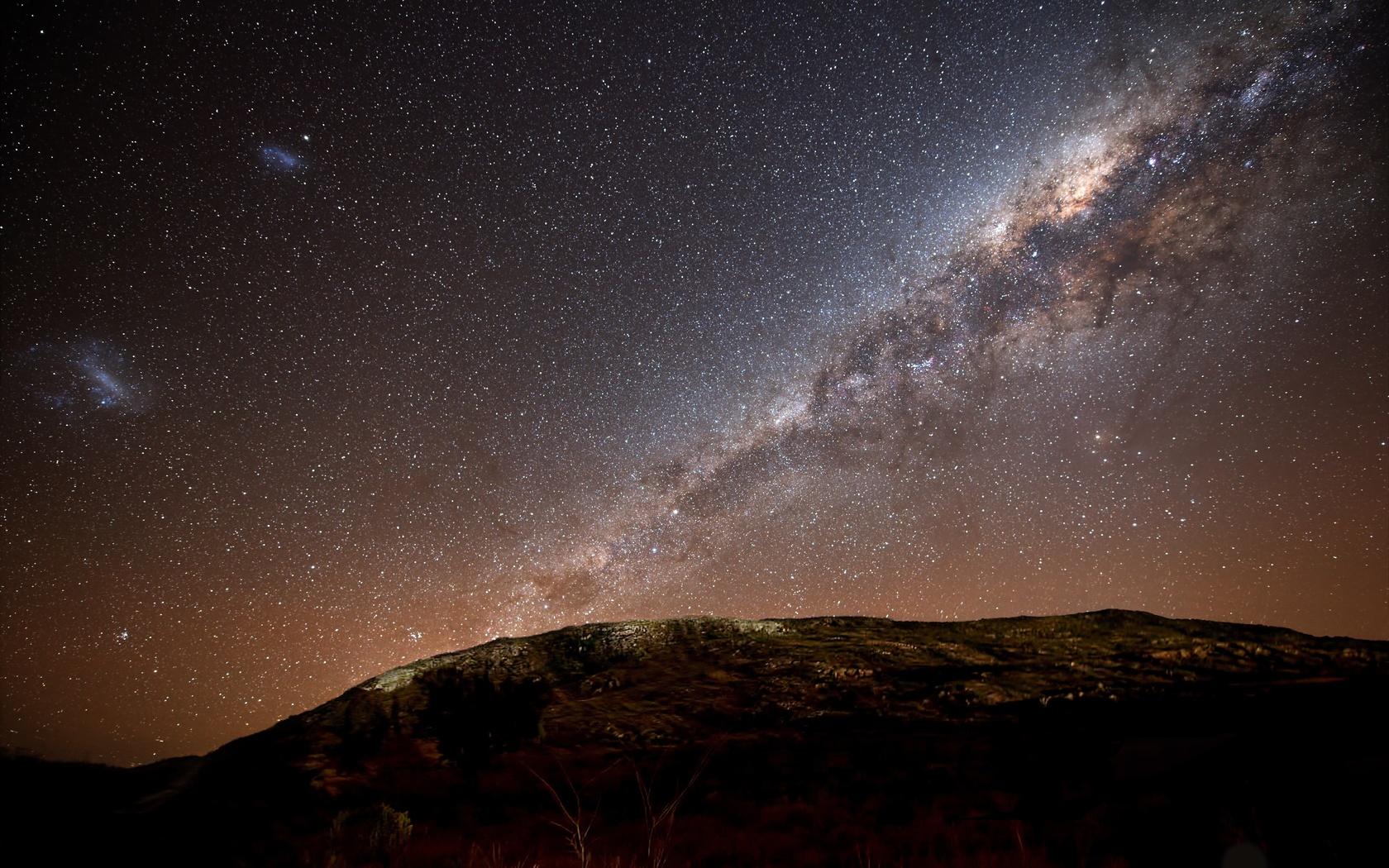 Космос ночное небо