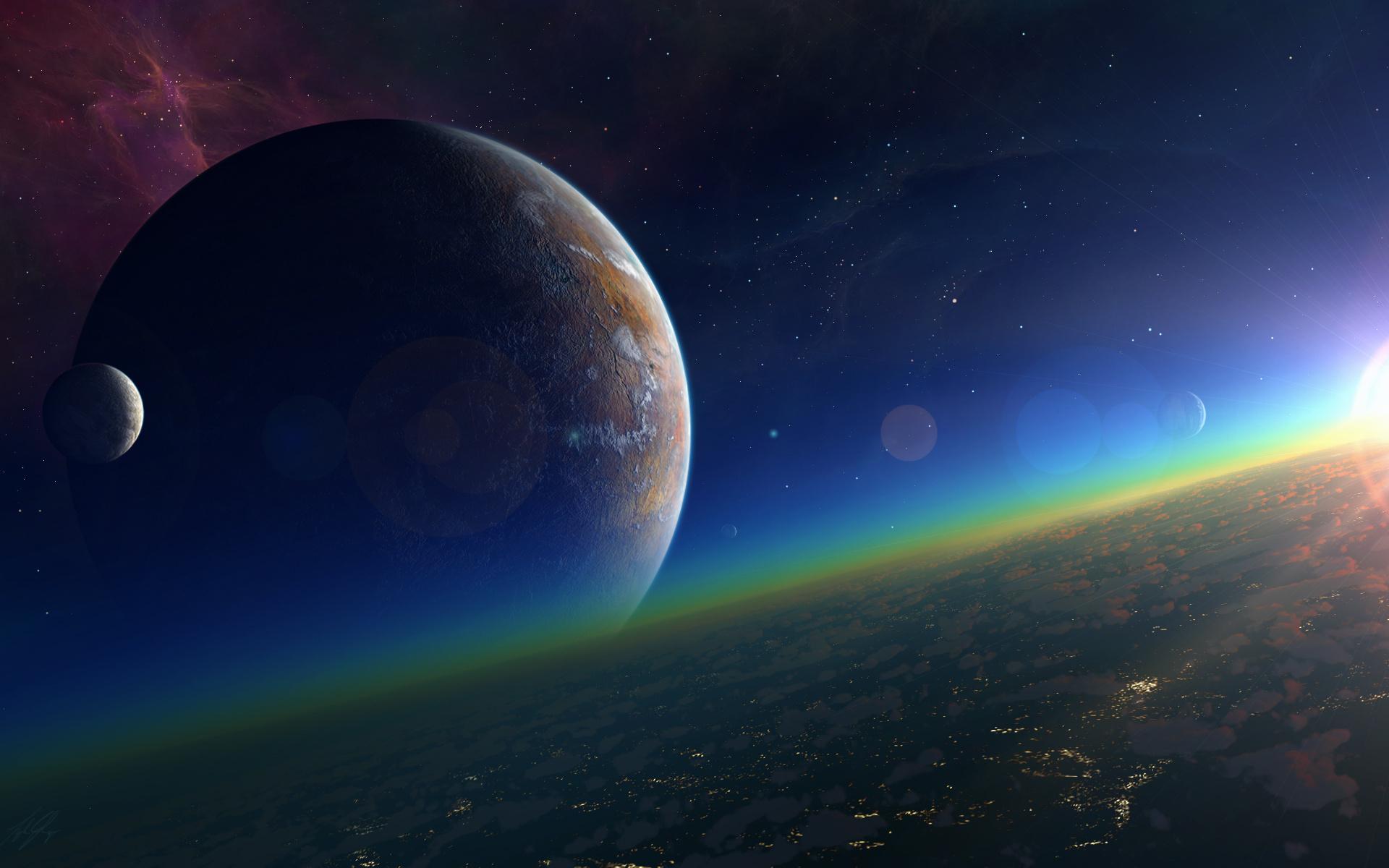 Картинки космоса и планет презентации часть