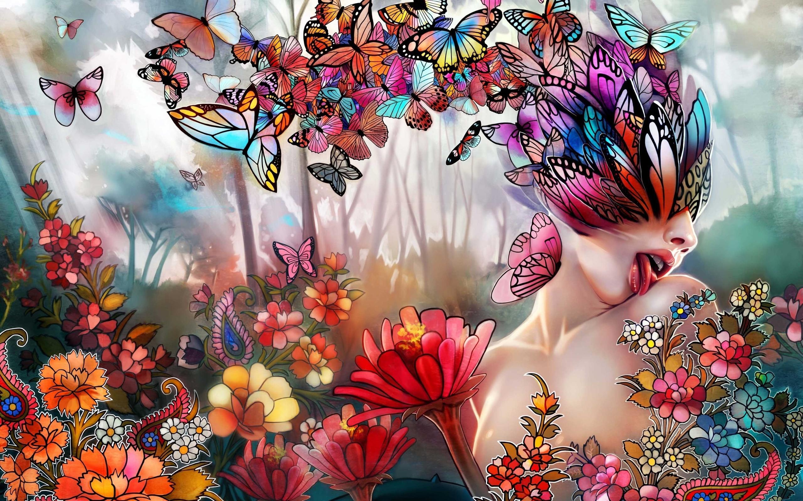 достаточно картинки фантазийных цветов такой