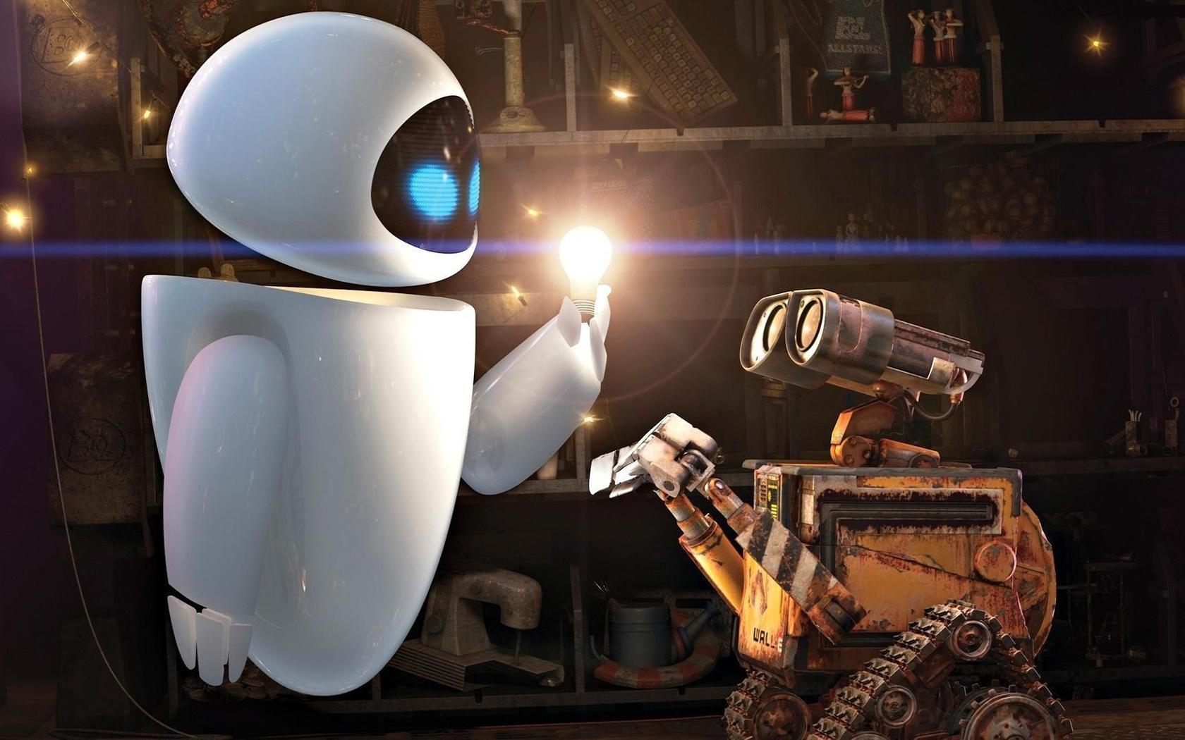 Картинка роботов из мультиков