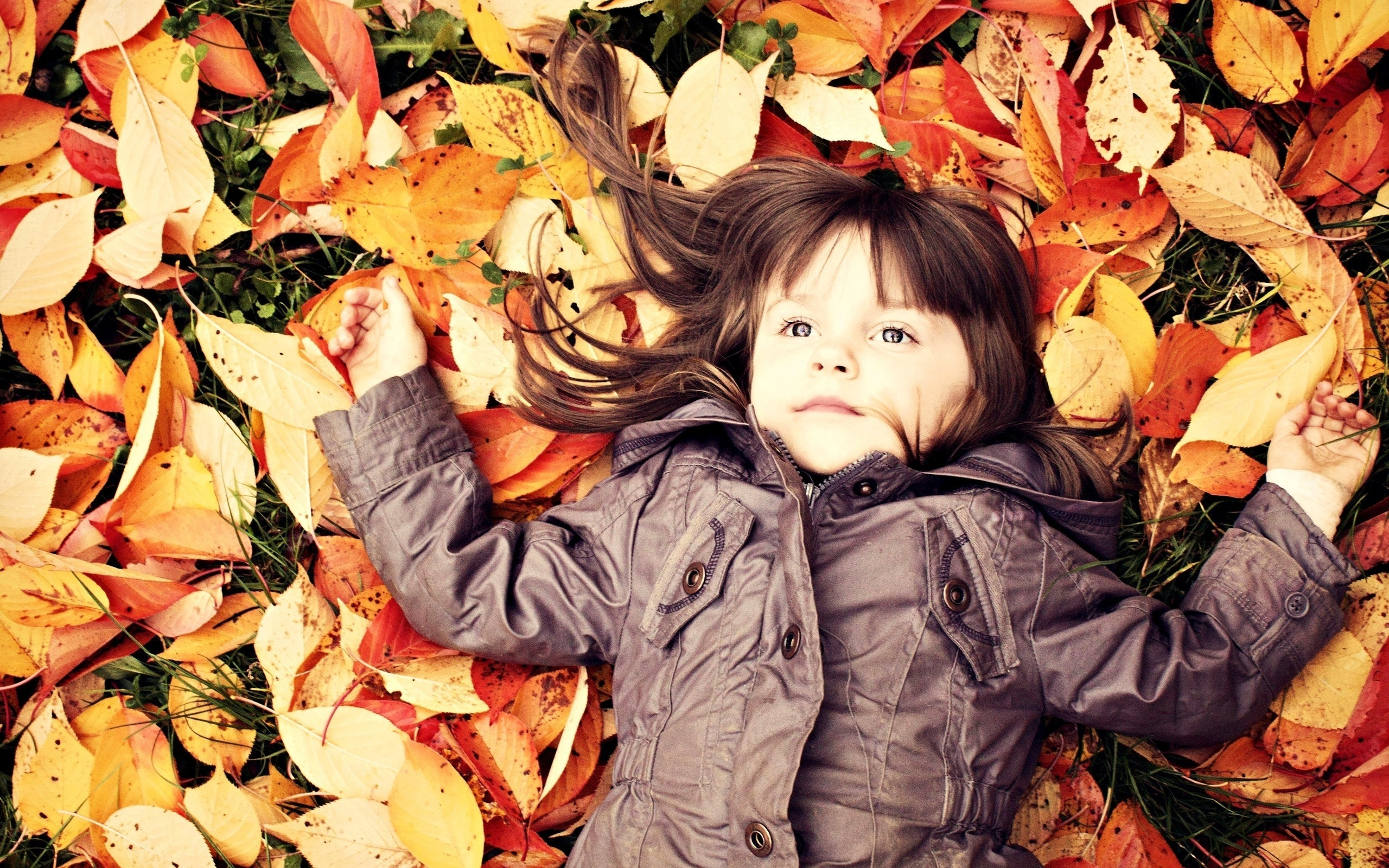 Красивые детские осенние картинки