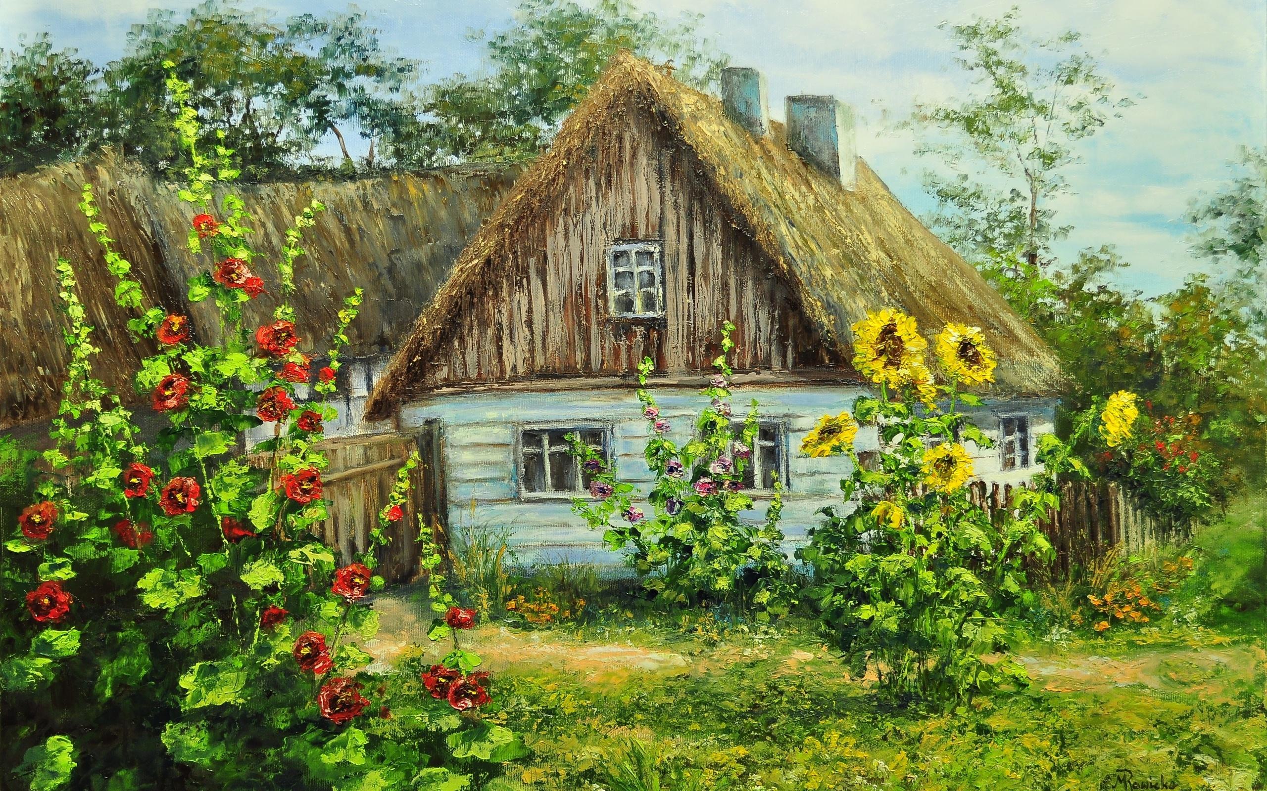 Картинки о селе деревне