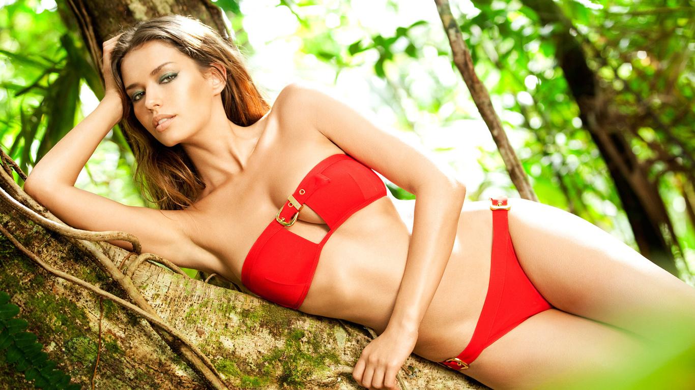 Mouni Roy Raises The Mercury Level In A Red Bikini, Real Cause Of Global Warming