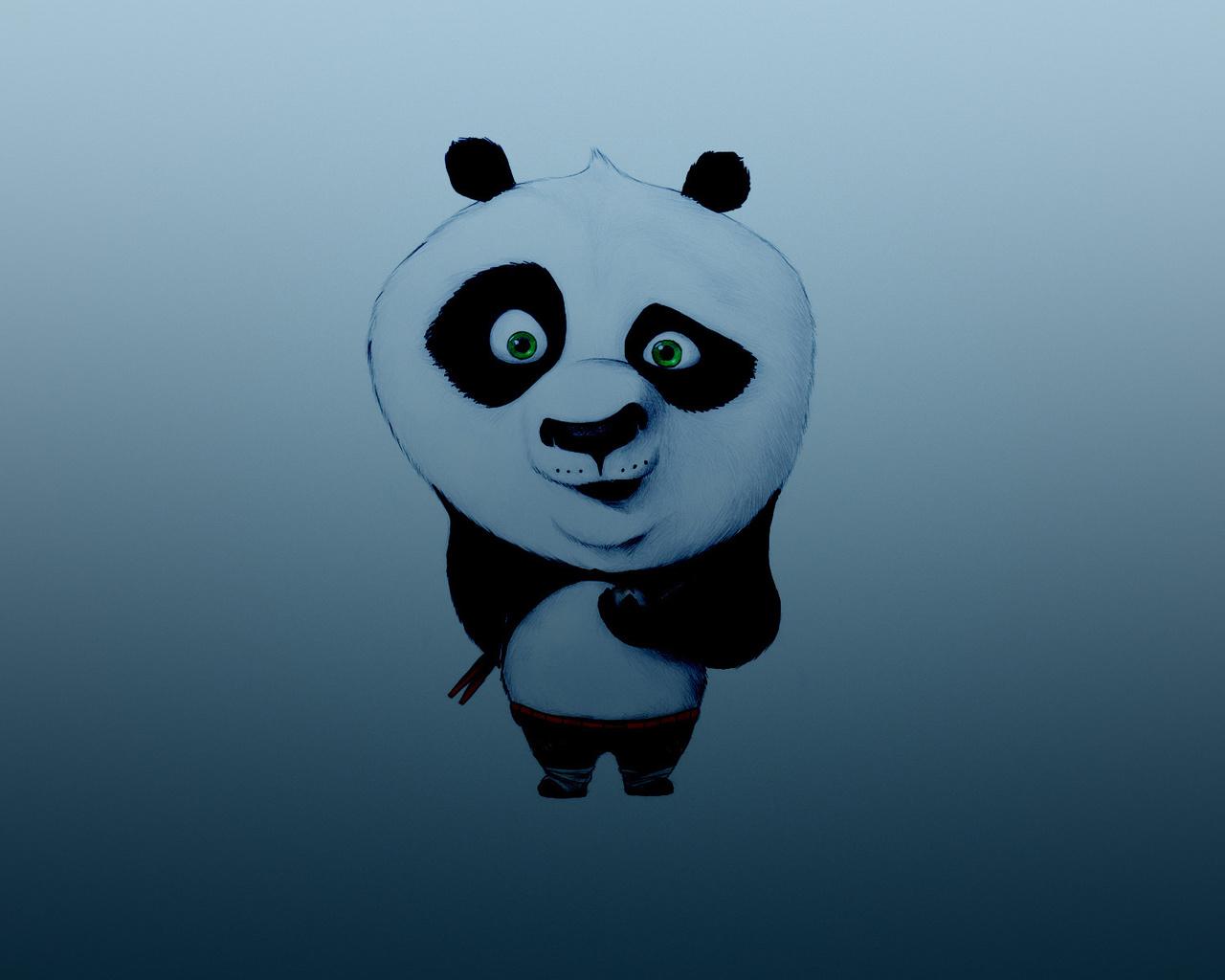 Картинки панды крутой