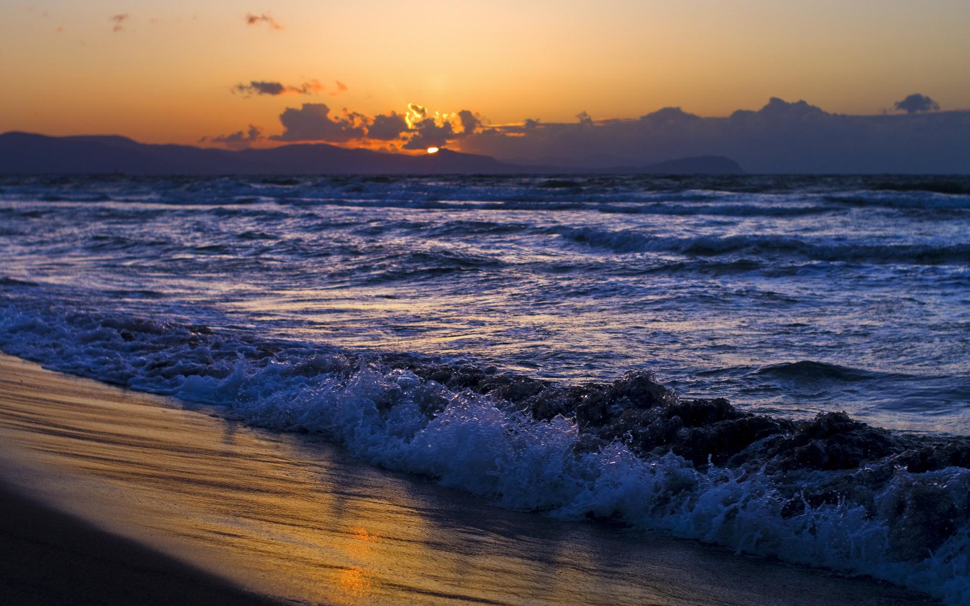 Картинки море волны солнце, вмф поздравления салон