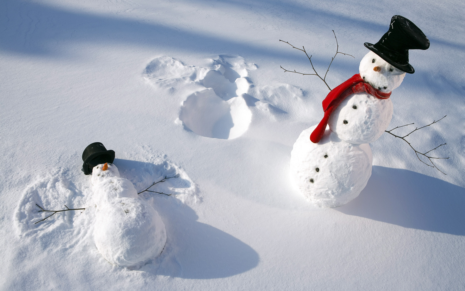 Картинки снеговиков смешных
