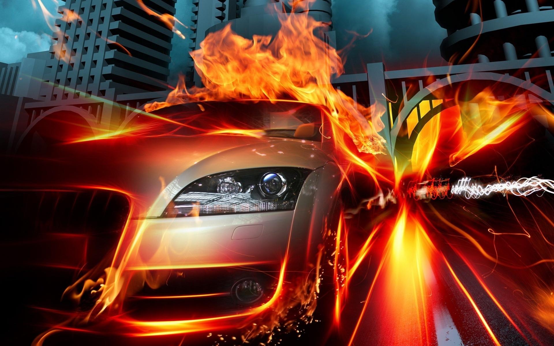 этот картинки машин огнем путешественников