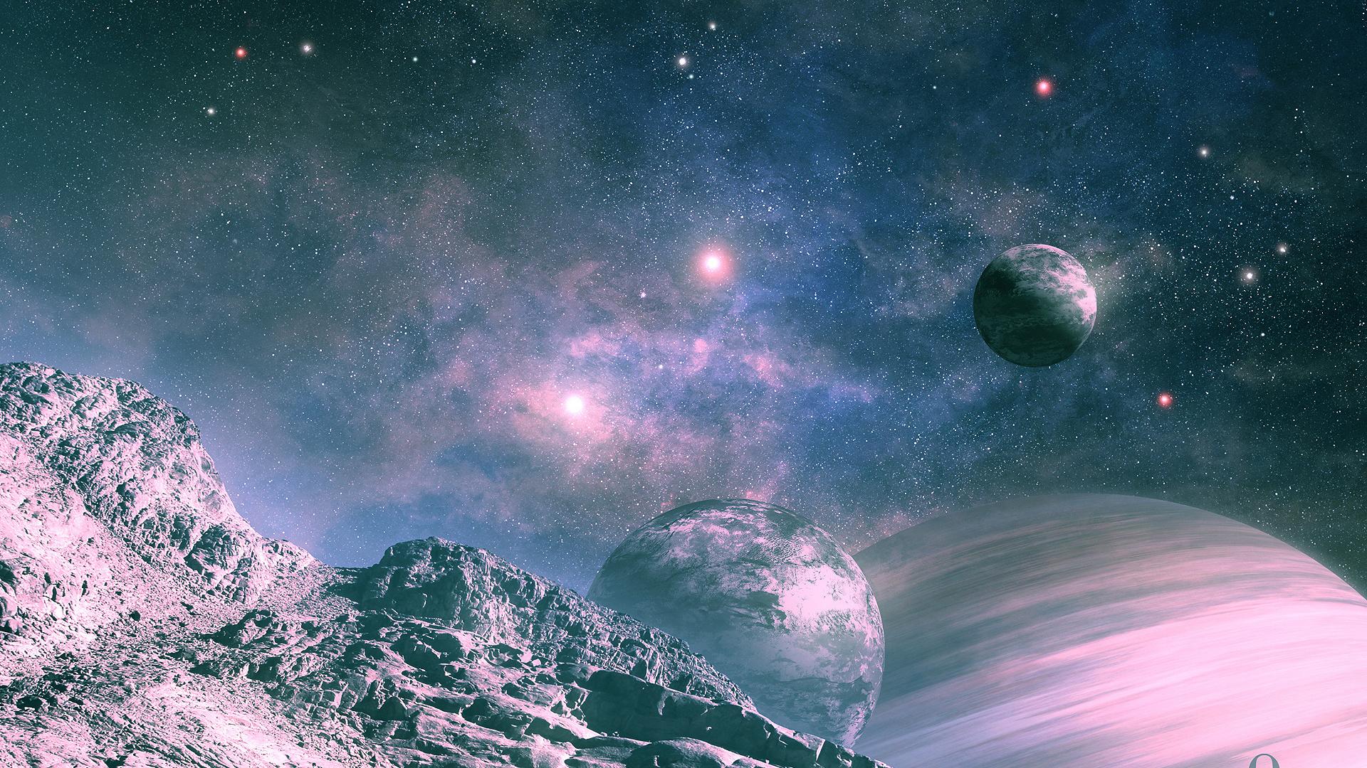 Картинки на рабочий стол космос планеты звезды