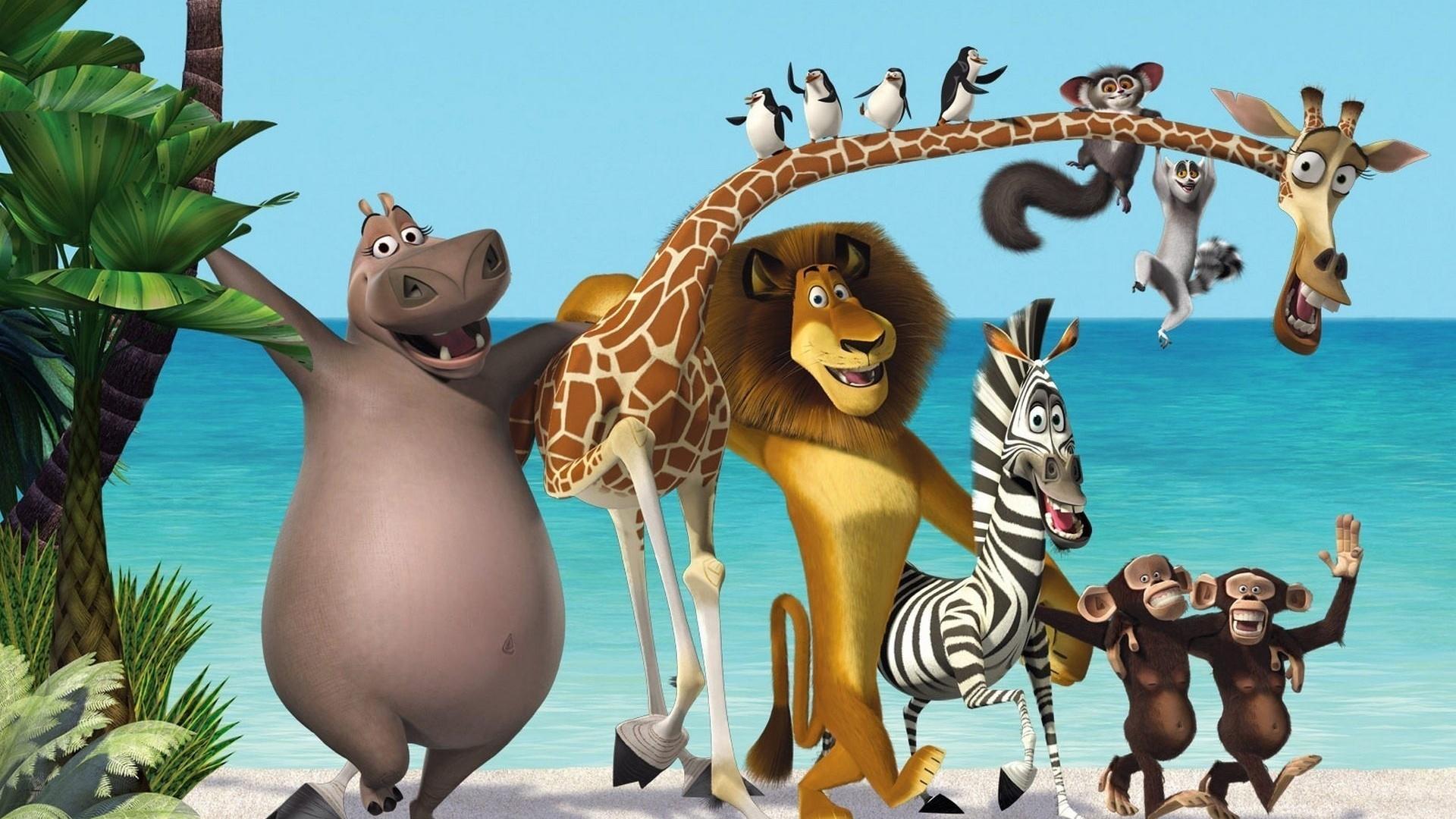 Картинки животных смешные из мультиков