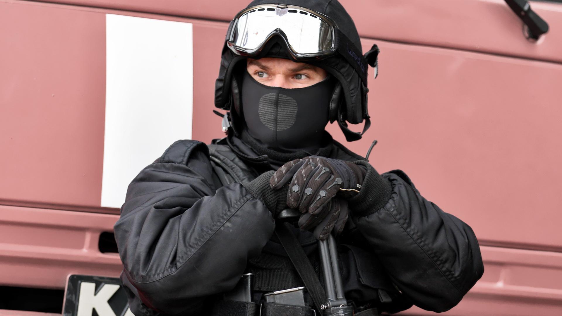спецназ в крутых масках фото